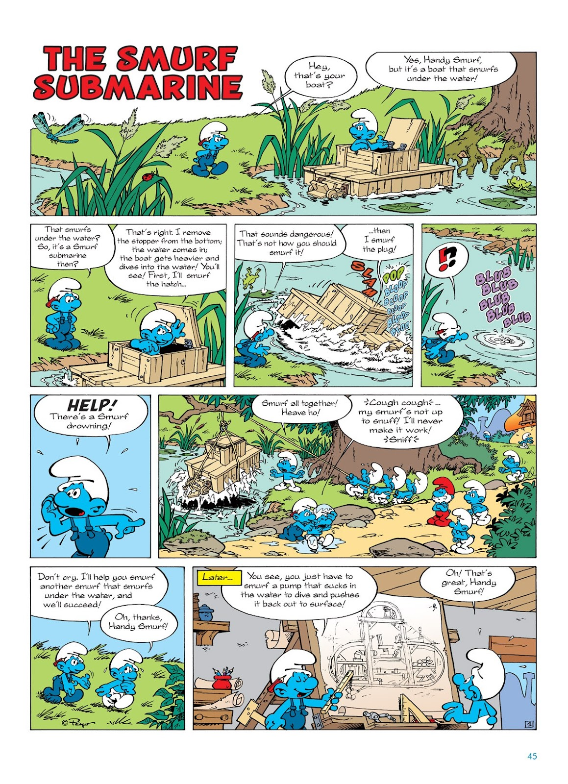 Read online The Smurfs comic -  Issue #7 - 45