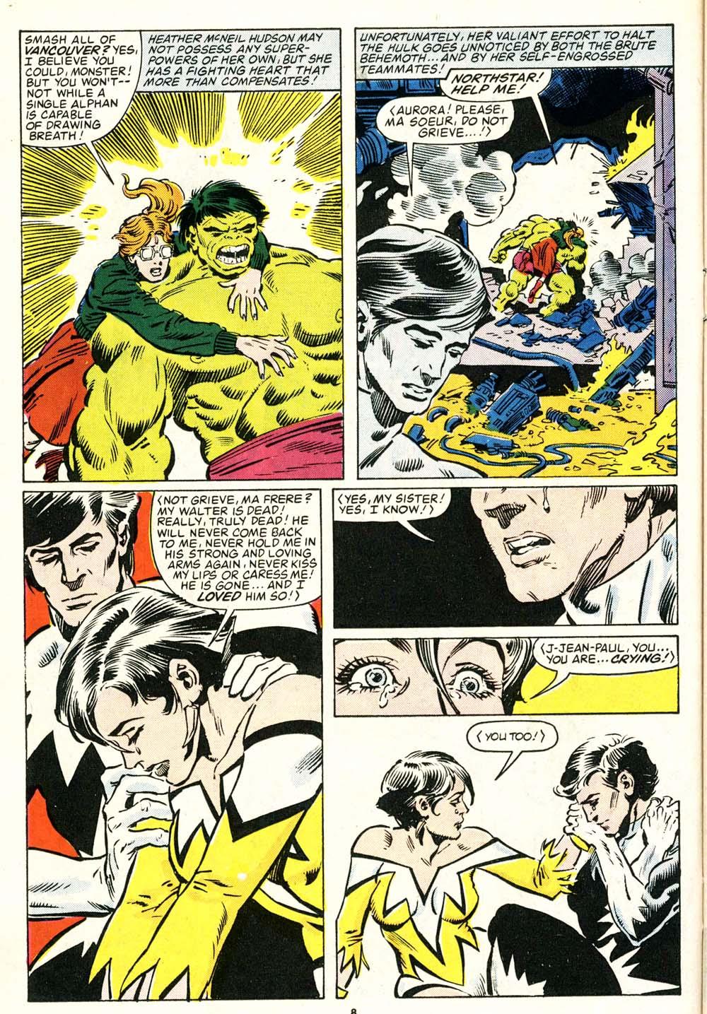 Read online Alpha Flight (1983) comic -  Issue #29 - 8
