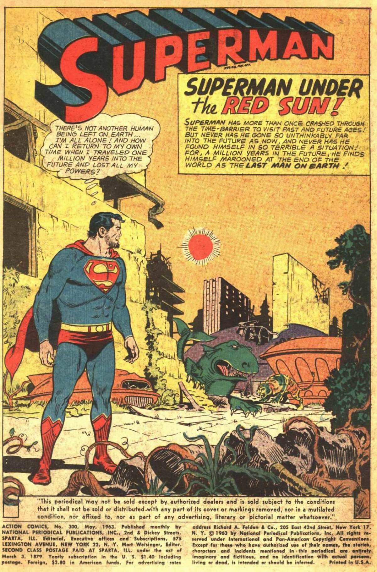 Read online Action Comics (1938) comic -  Issue #300 - 3