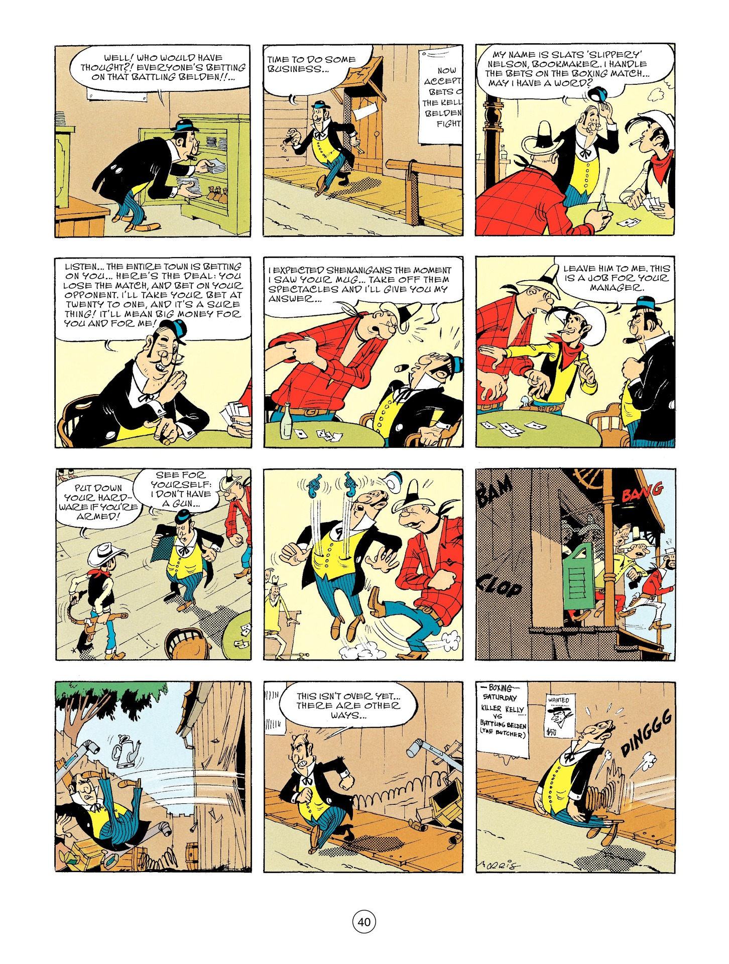 Read online A Lucky Luke Adventure comic -  Issue #56 - 40