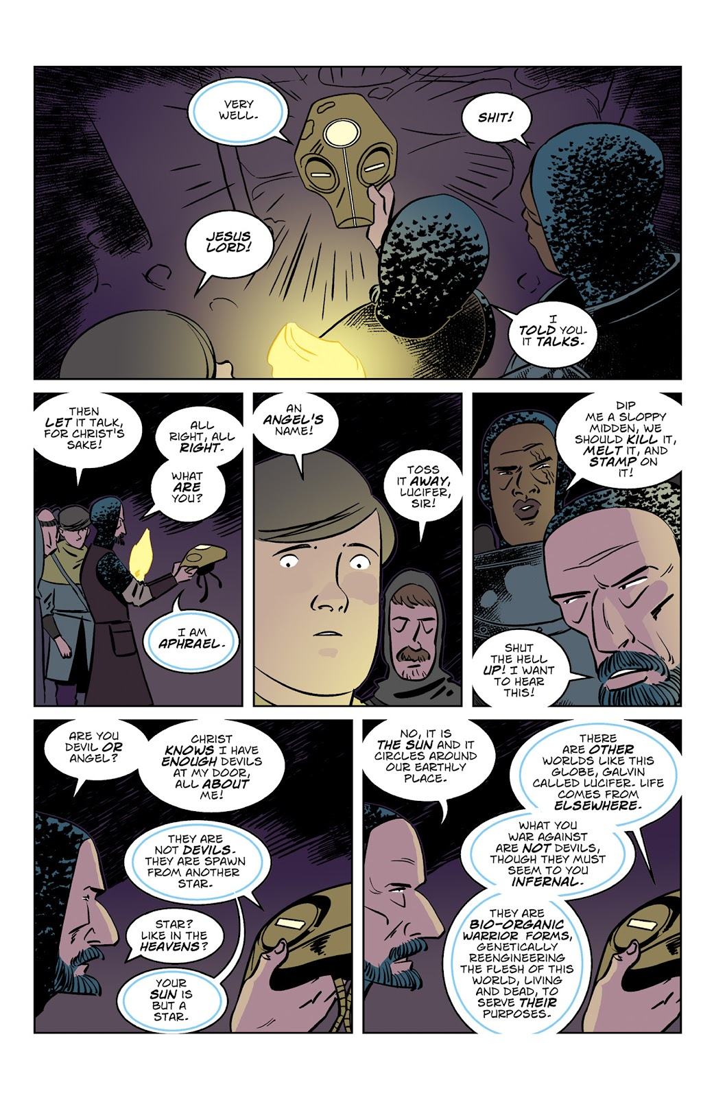 Read online Dark Ages comic -  Issue #3 - 8