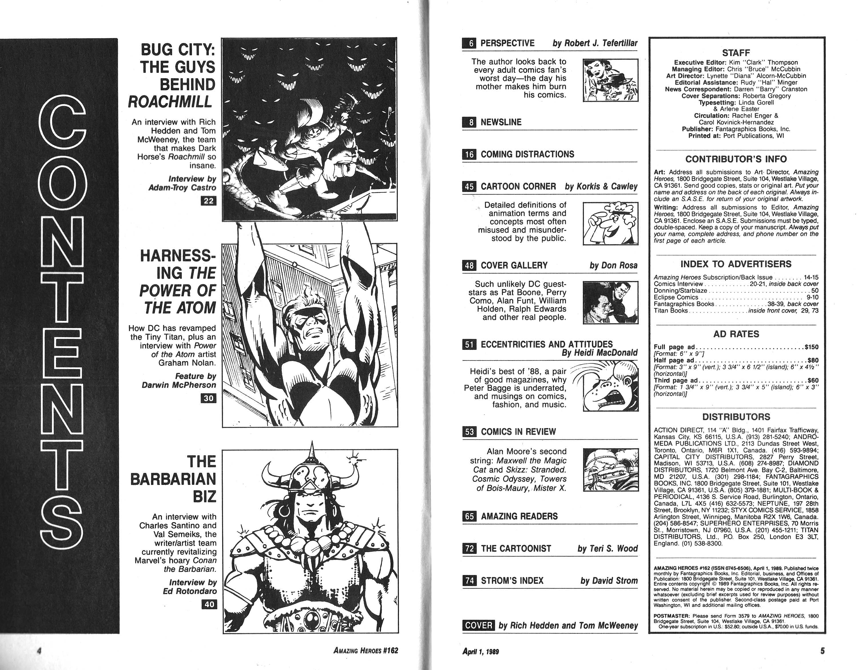 Read online Amazing Heroes comic -  Issue #162 - 3