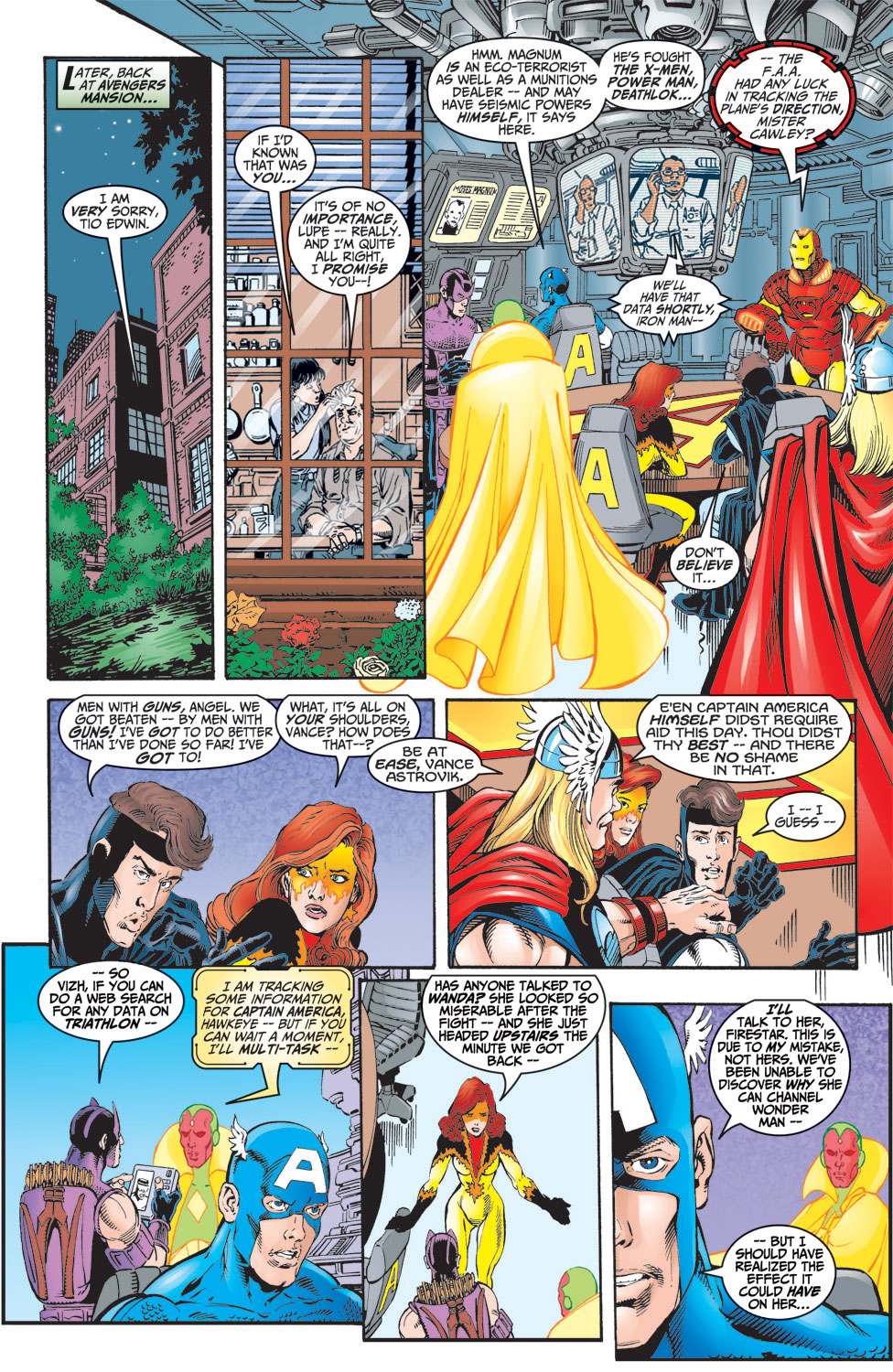 Read online Avengers (1998) comic -  Issue #8 - 23