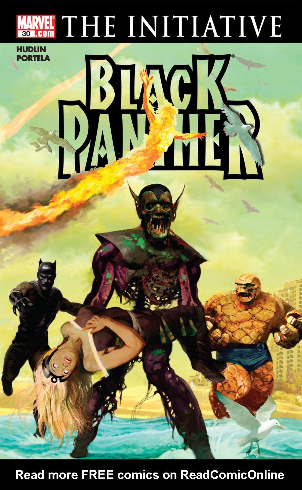 Black Panther (2005) 30 Page 1