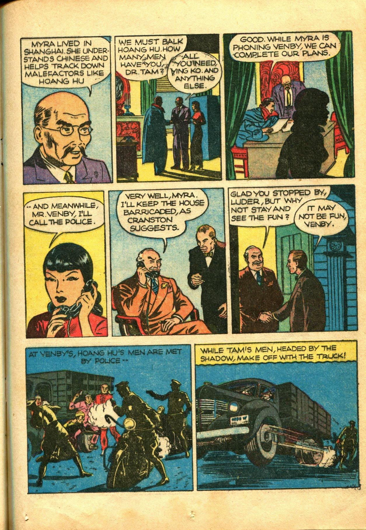 Read online Shadow Comics comic -  Issue #10 - 25
