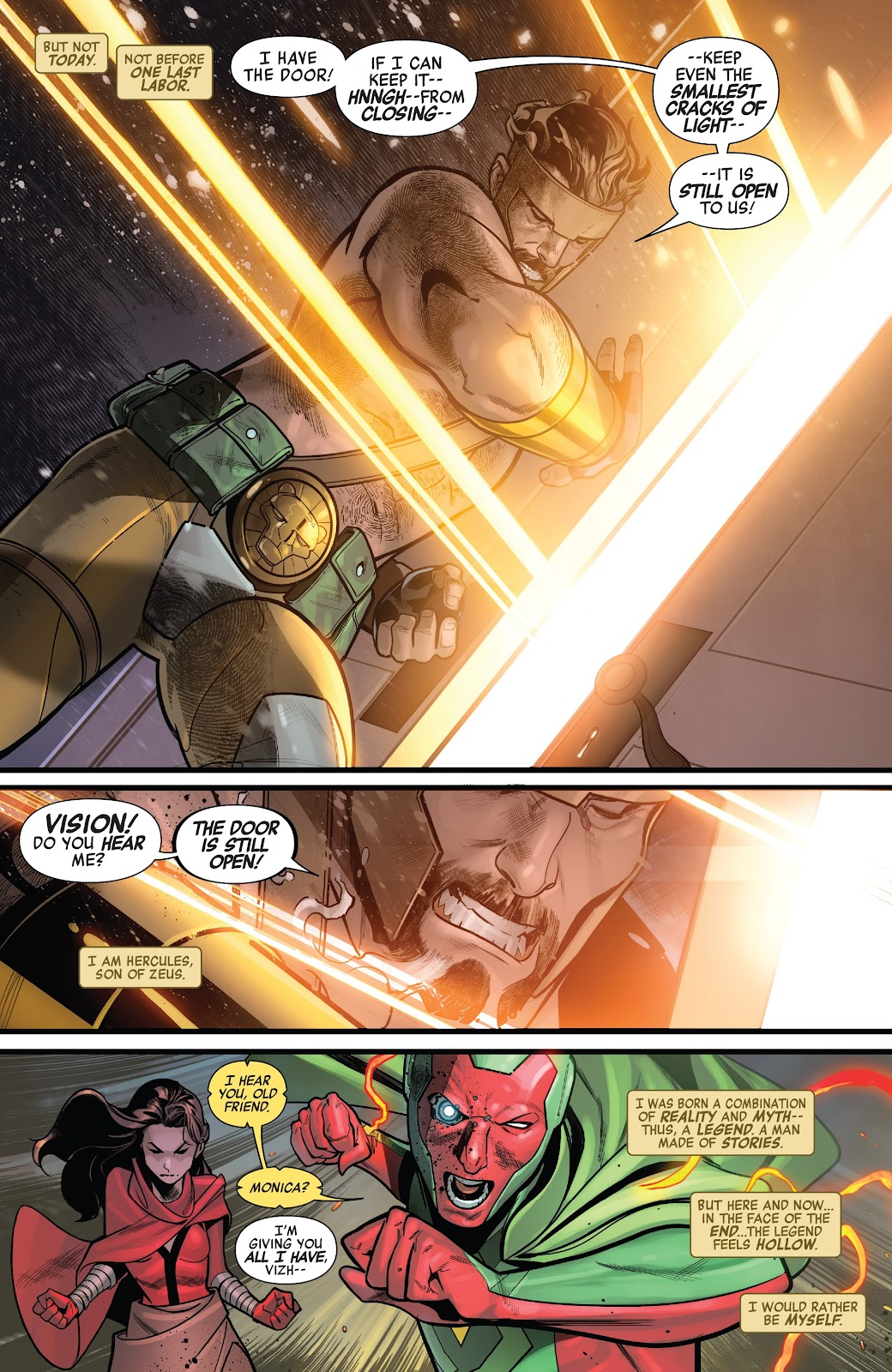 Read online Avengers No Road Home comic -  Issue #9 - 22