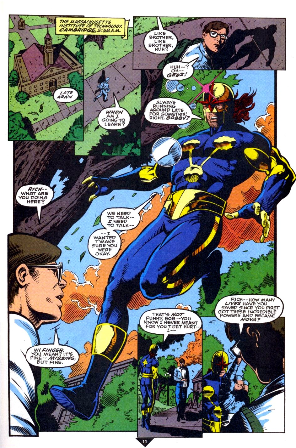 The New Warriors Issue #39 #43 - English 9