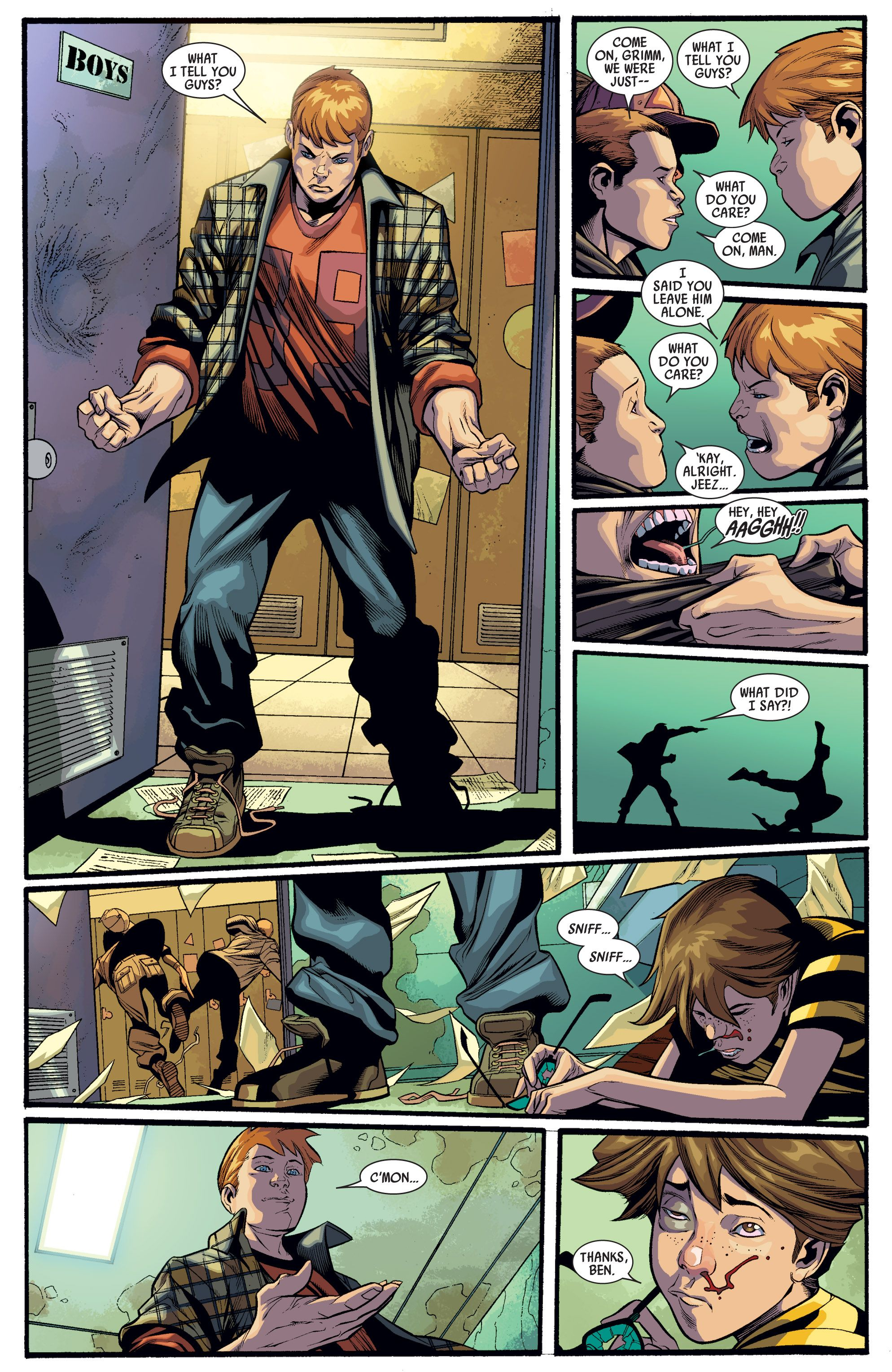 Read online Ultimate Mystery comic -  Issue #4 - 4