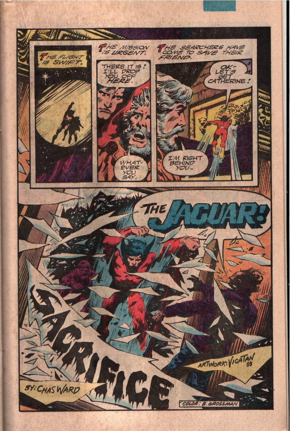 Read online The Fly (1983) comic -  Issue #7 - 18