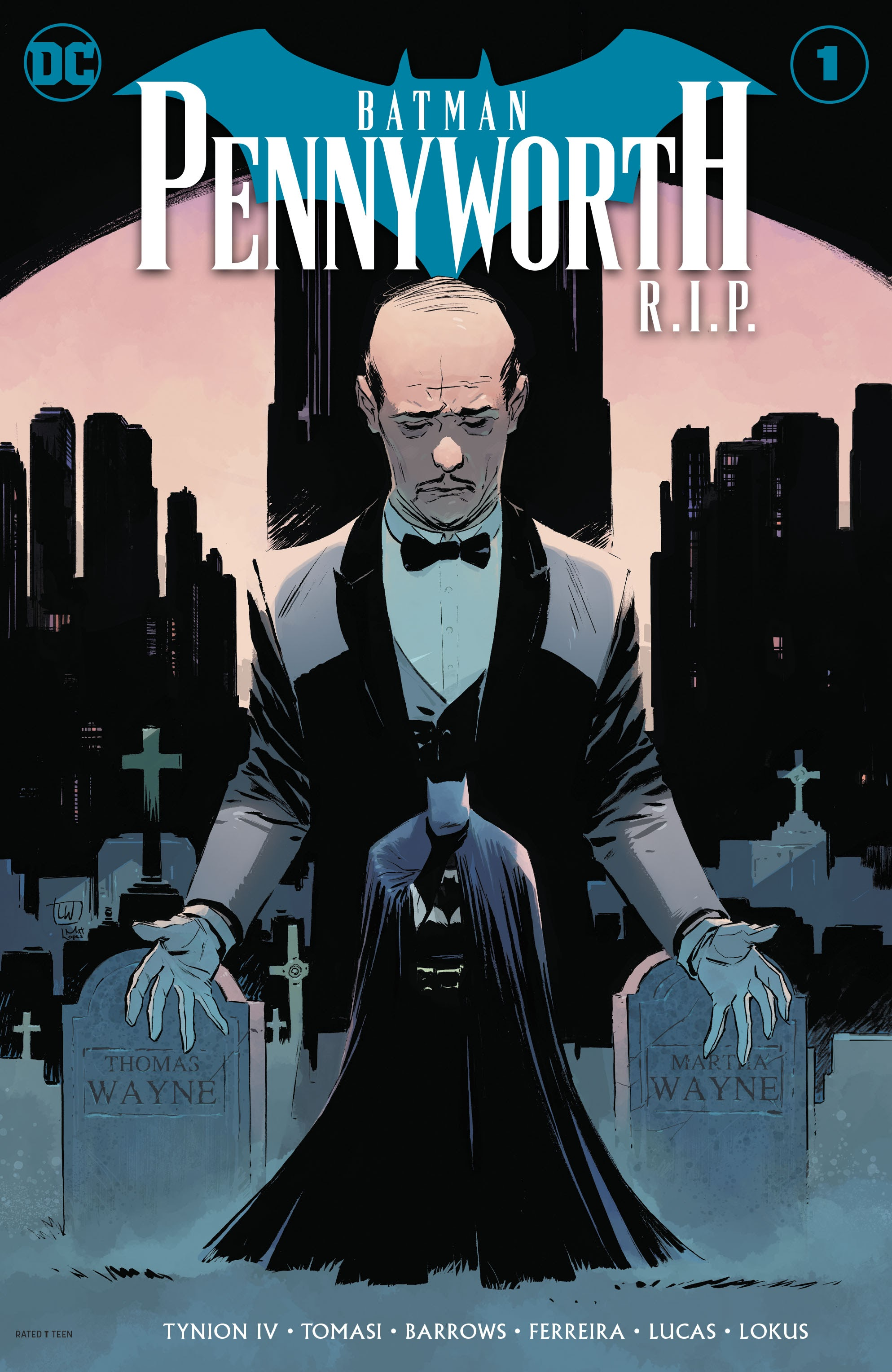 Batman: Pennyworth R.I.P. Full  Page 1