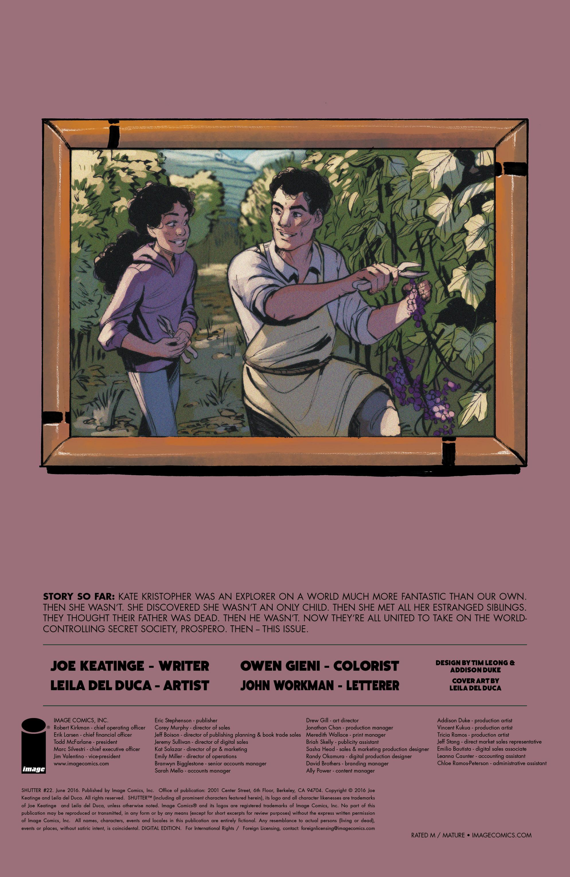 Read online Shutter comic -  Issue #22 - 26