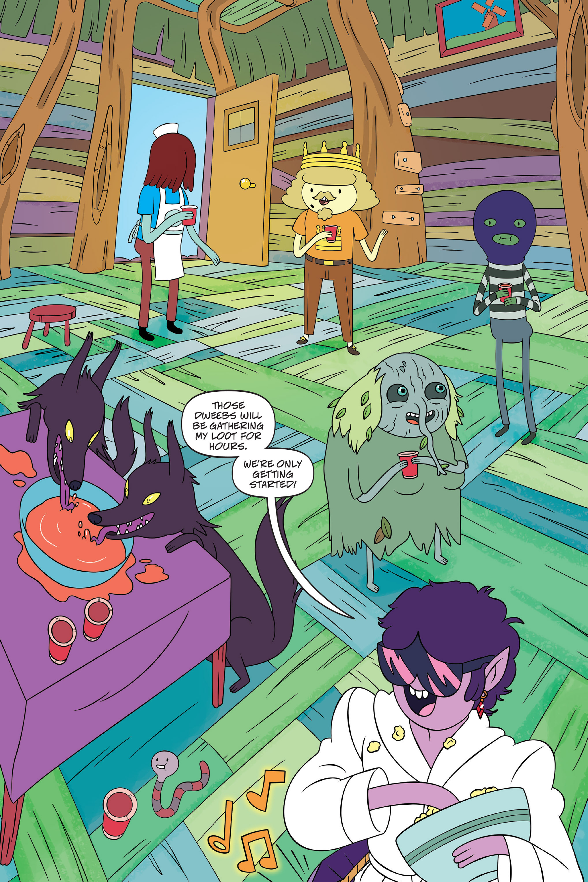 Read online Adventure Time: The Four Castles comic -  Issue #Adventure Time: The Four Castles TPB - 56