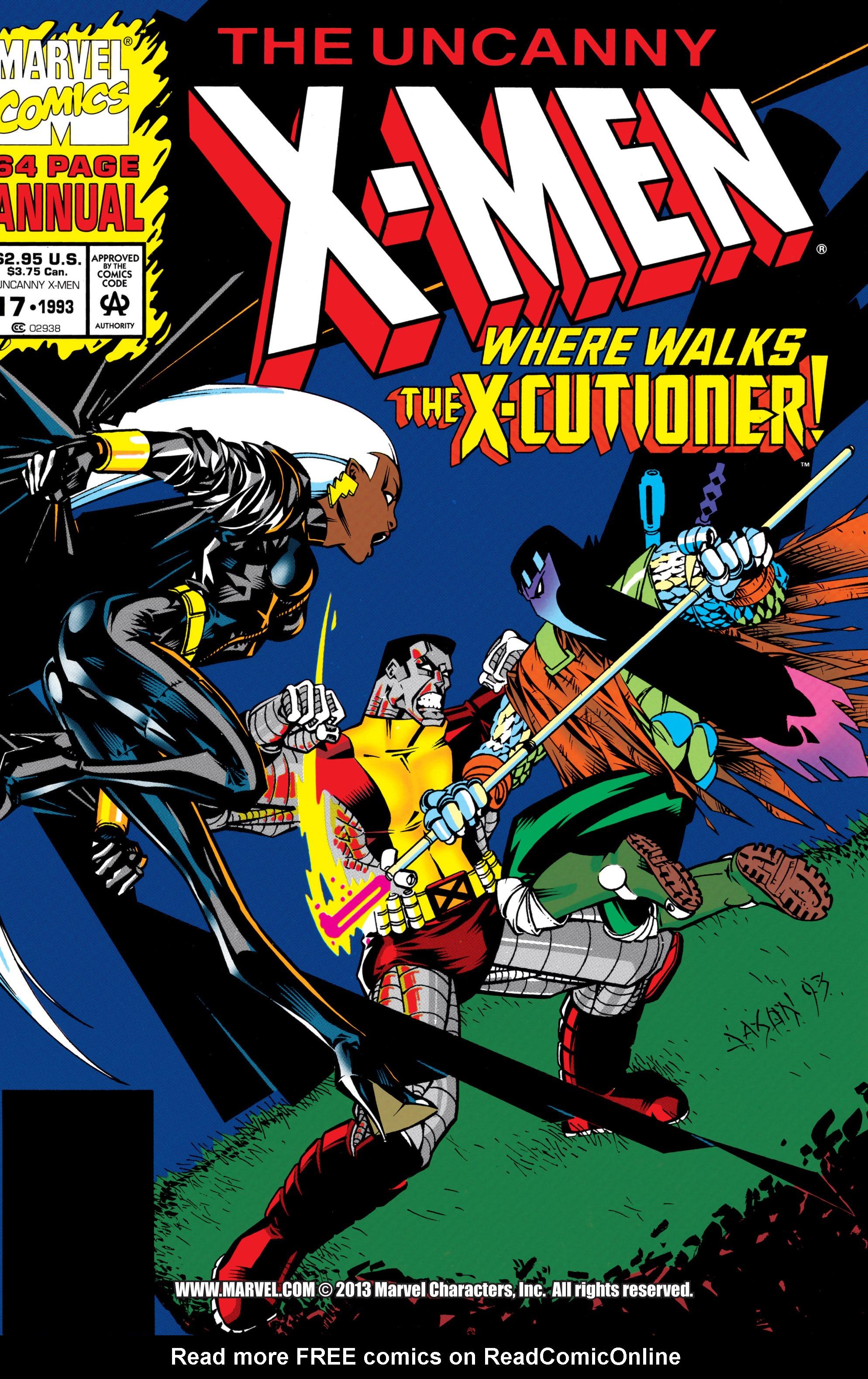 Uncanny X-Men (1963) _Annual_17 Page 1