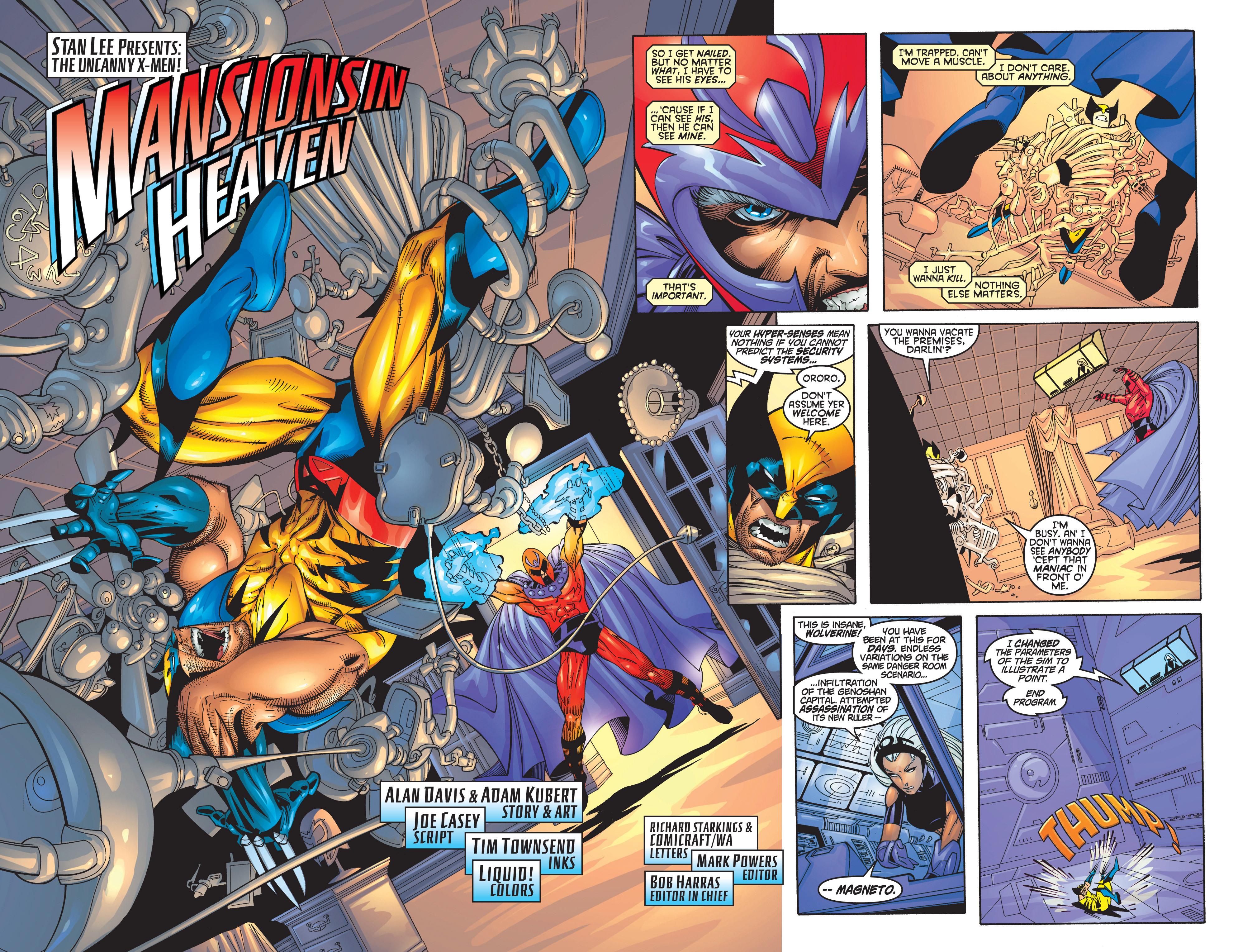 Read online Uncanny X-Men (1963) comic -  Issue #368 - 5