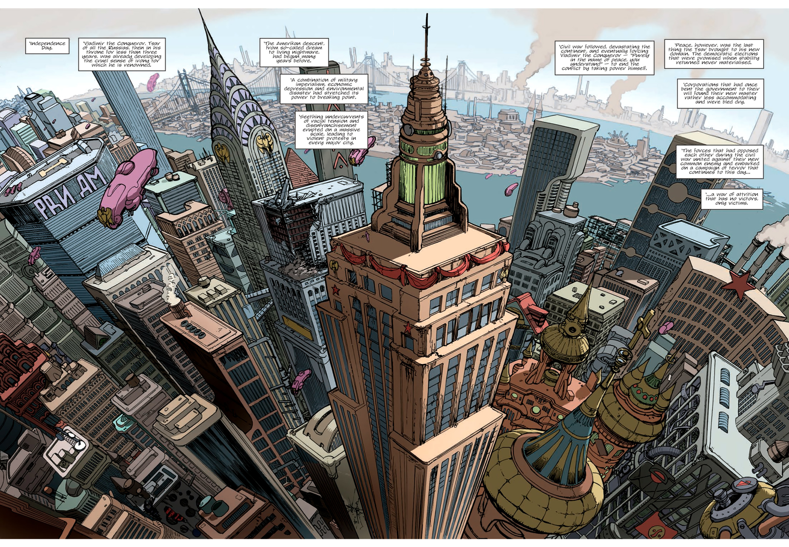 Read online Nikolai Dante comic -  Issue # TPB 9 - 8