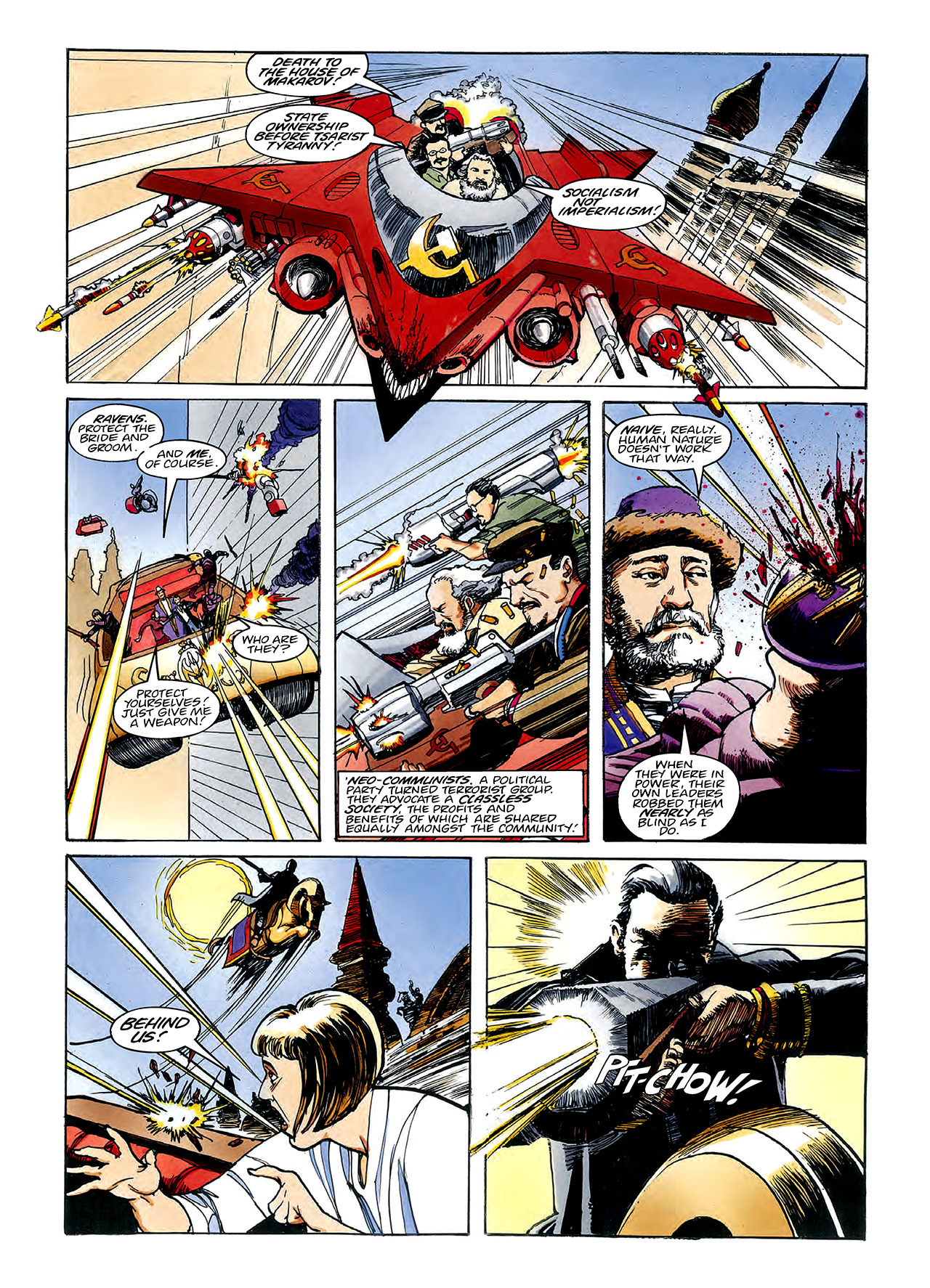 Read online Nikolai Dante comic -  Issue # TPB 3 - 63