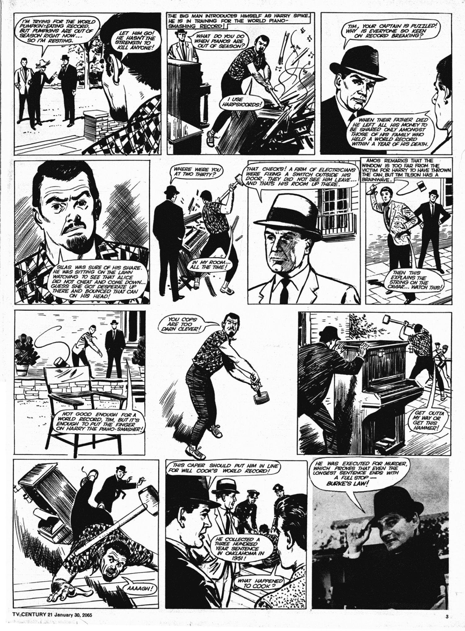 Read online TV Century 21 (TV 21) comic -  Issue #2 - 3