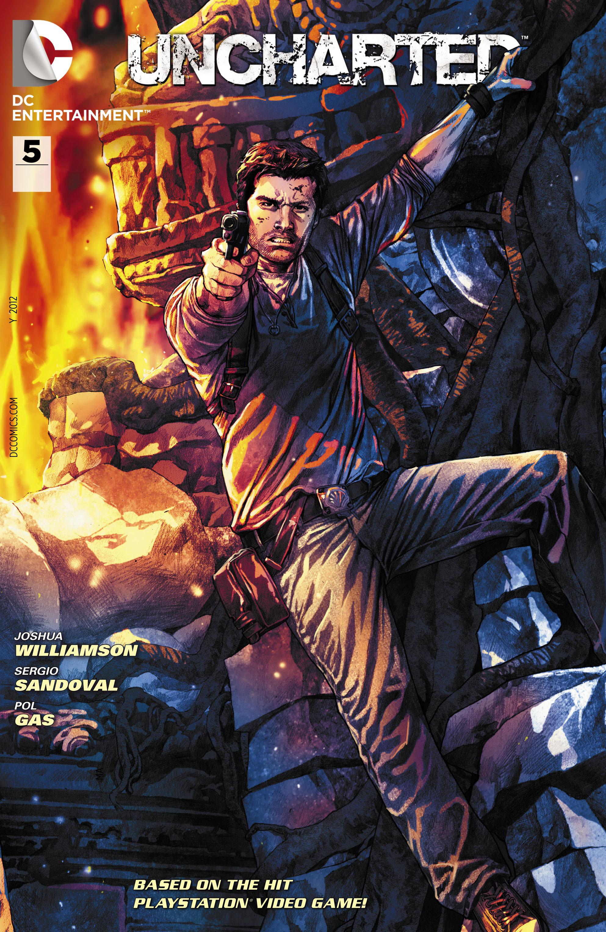 Read online Uncharted comic -  Issue #5 - 2