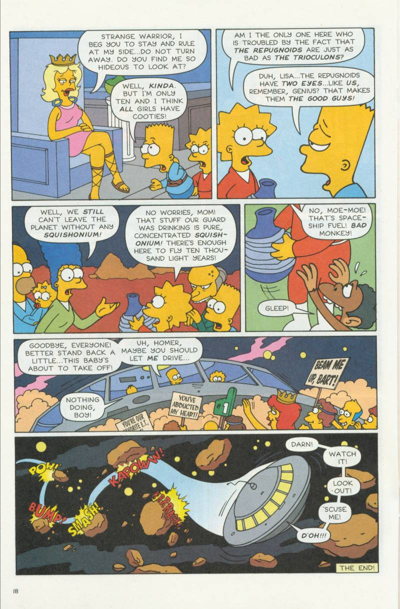 Read online Simpsons Comics Presents Bart Simpson comic -  Issue #3 - 20