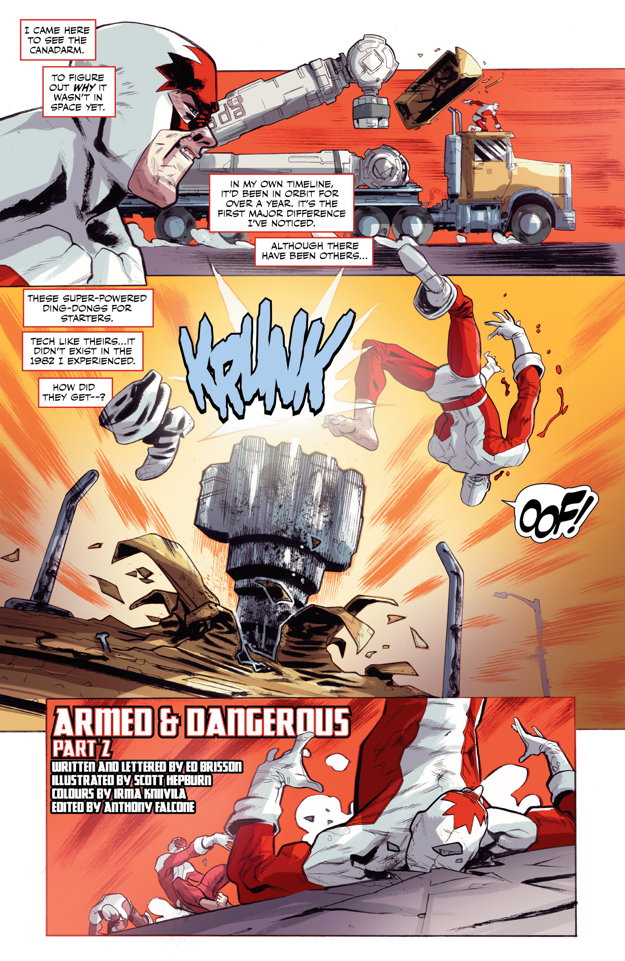 Read online All-New Classic Captain Canuck comic -  Issue #0 - 29