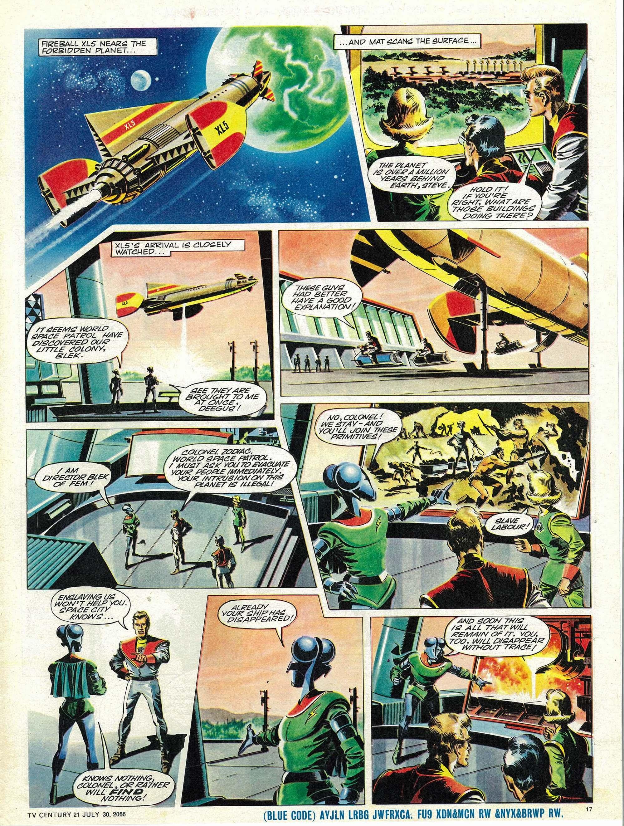 Read online TV Century 21 (TV 21) comic -  Issue #80 - 16