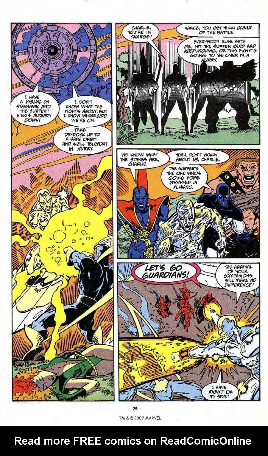 Read online Silver Surfer (1987) comic -  Issue # _Annual 4 - 27