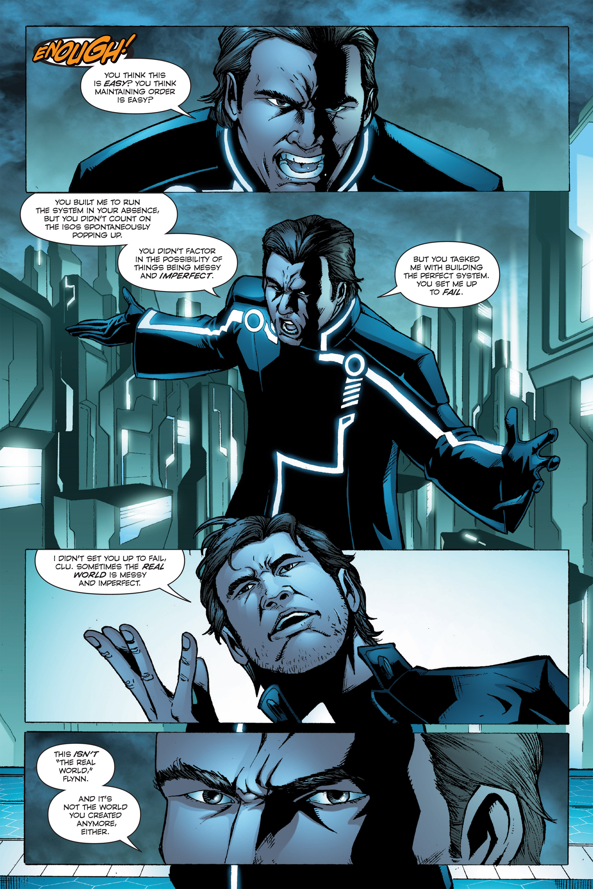 Read online TRON: Betrayal comic -  Issue # TPB - 90