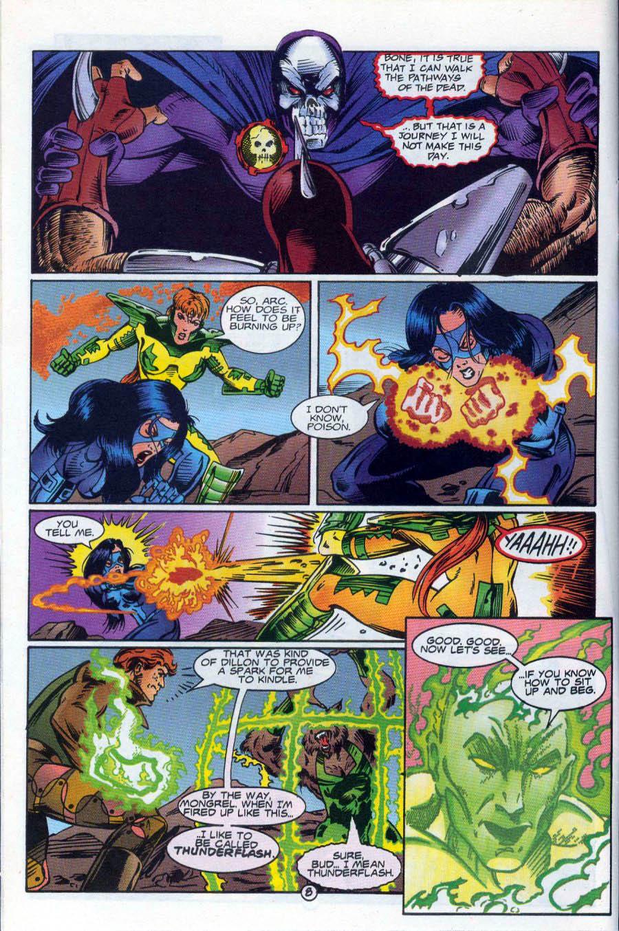 Read online Ex-Mutants comic -  Issue #18 - 9