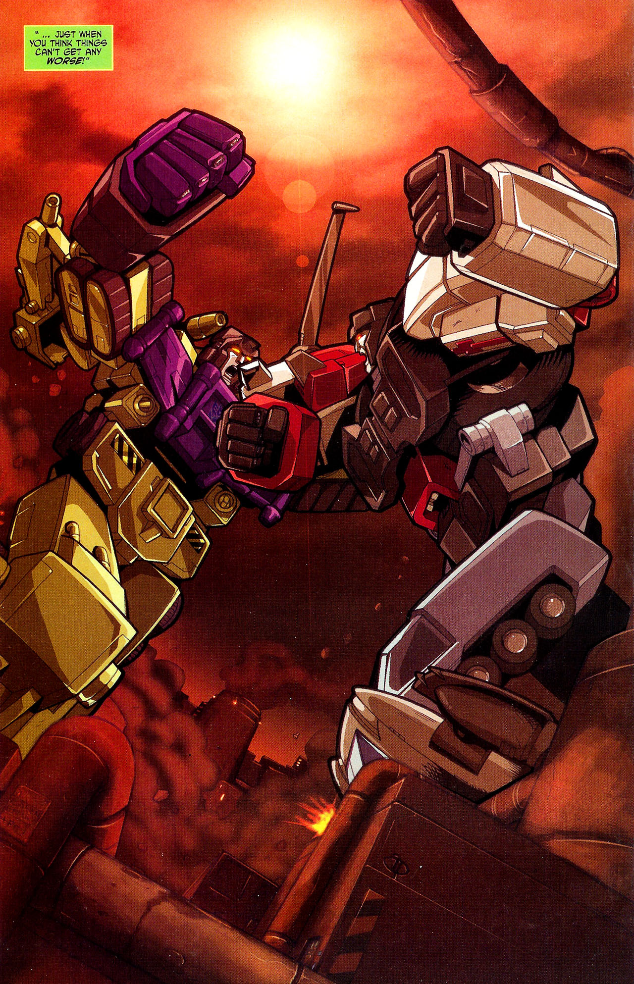 """Read online Transformers War Within: """"The Dark Ages"""" comic -  Issue #2 - 21"""