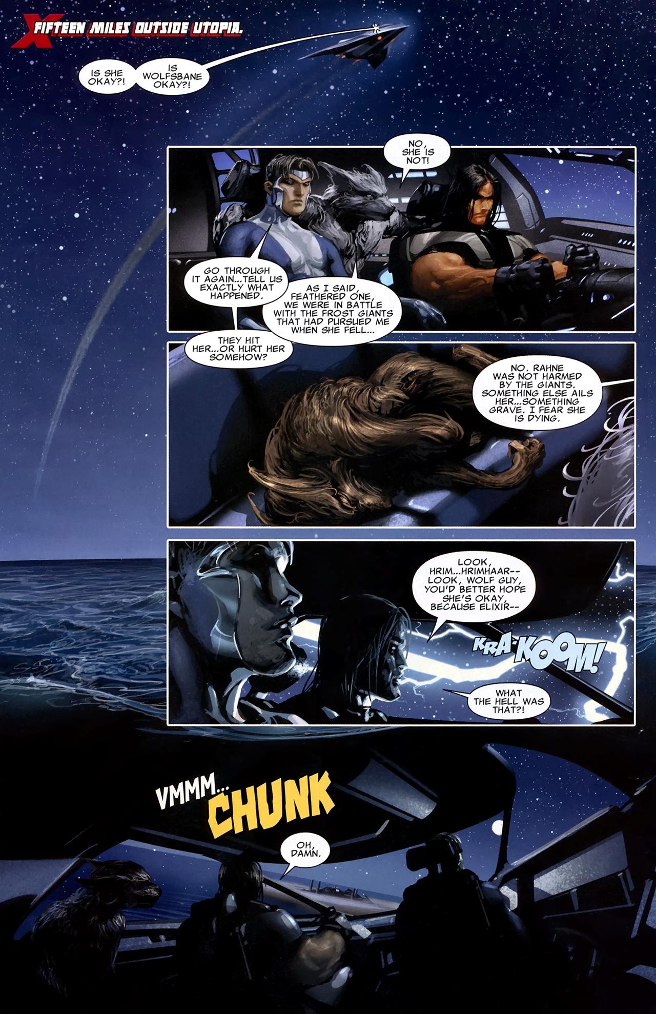 Read online X Necrosha comic -  Issue # Full - 19