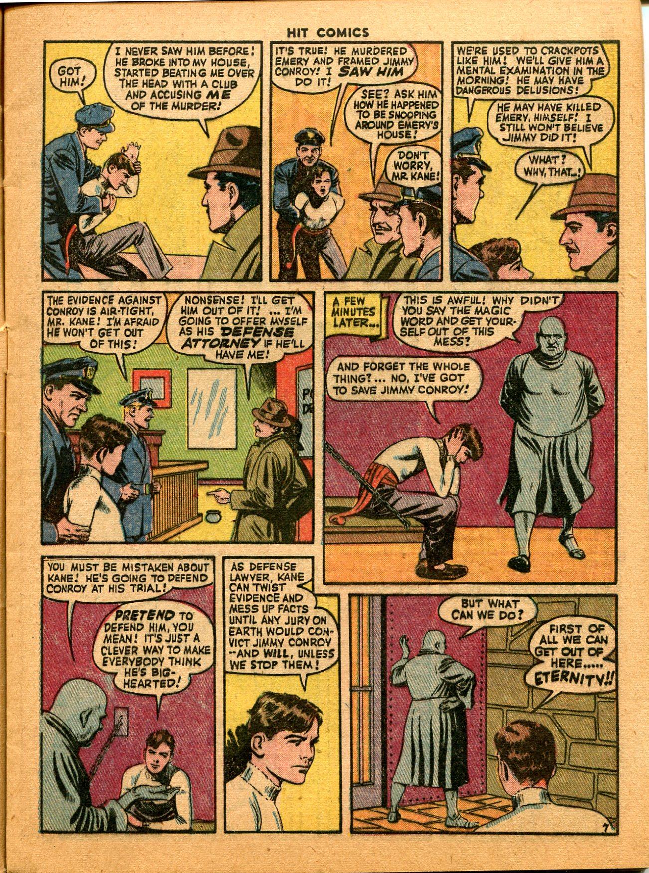 Read online Hit Comics comic -  Issue #35 - 9