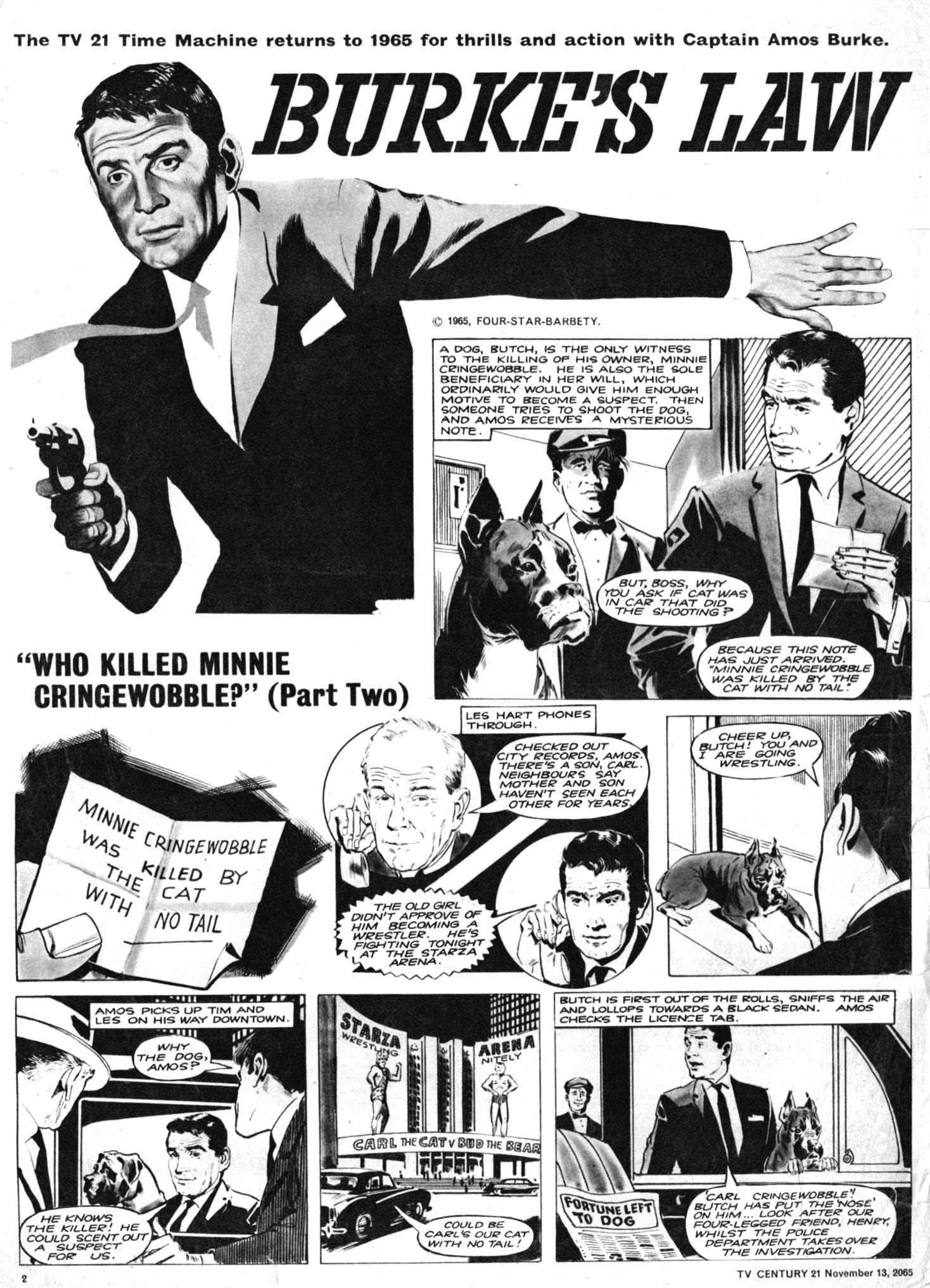 Read online TV Century 21 (TV 21) comic -  Issue #43 - 2