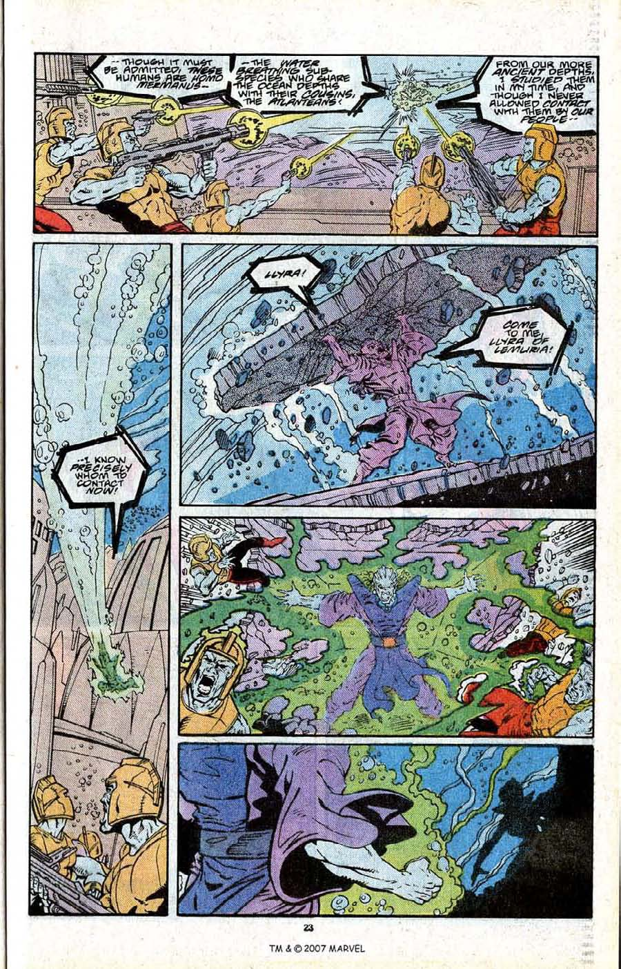 Read online Silver Surfer (1987) comic -  Issue # _Annual 2 - 25