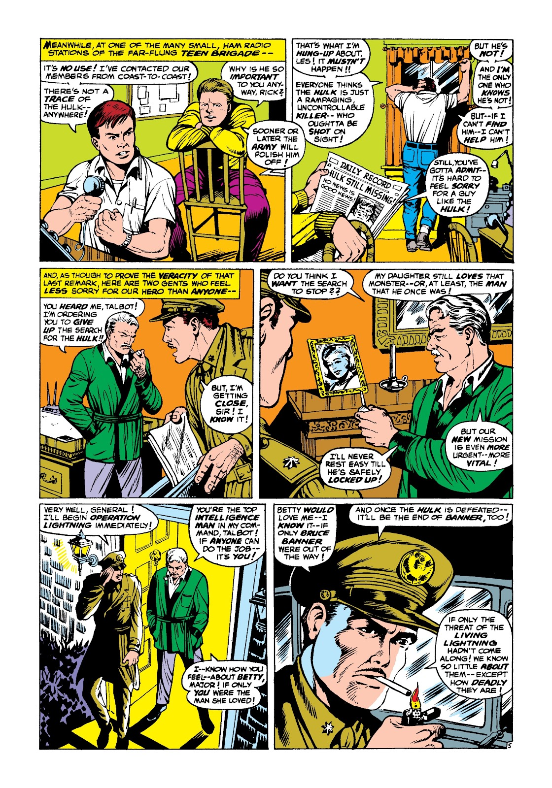 Read online Marvel Masterworks: The Incredible Hulk comic -  Issue # TPB 3 (Part 2) - 99