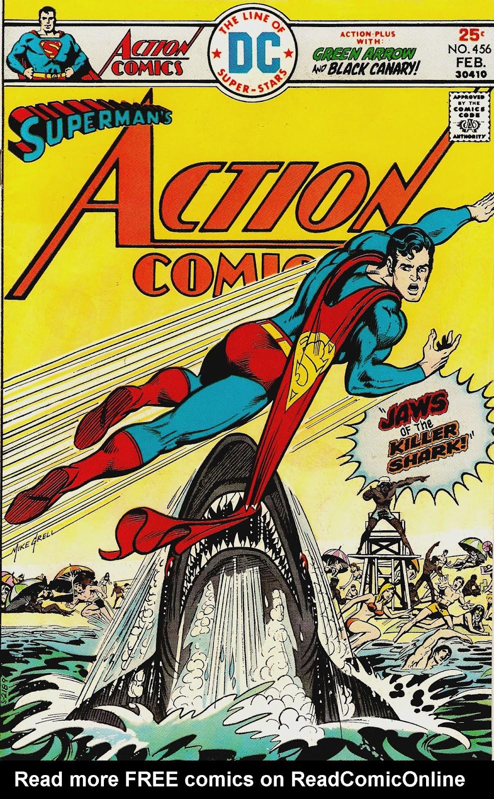 Action Comics (1938) 456 Page 1