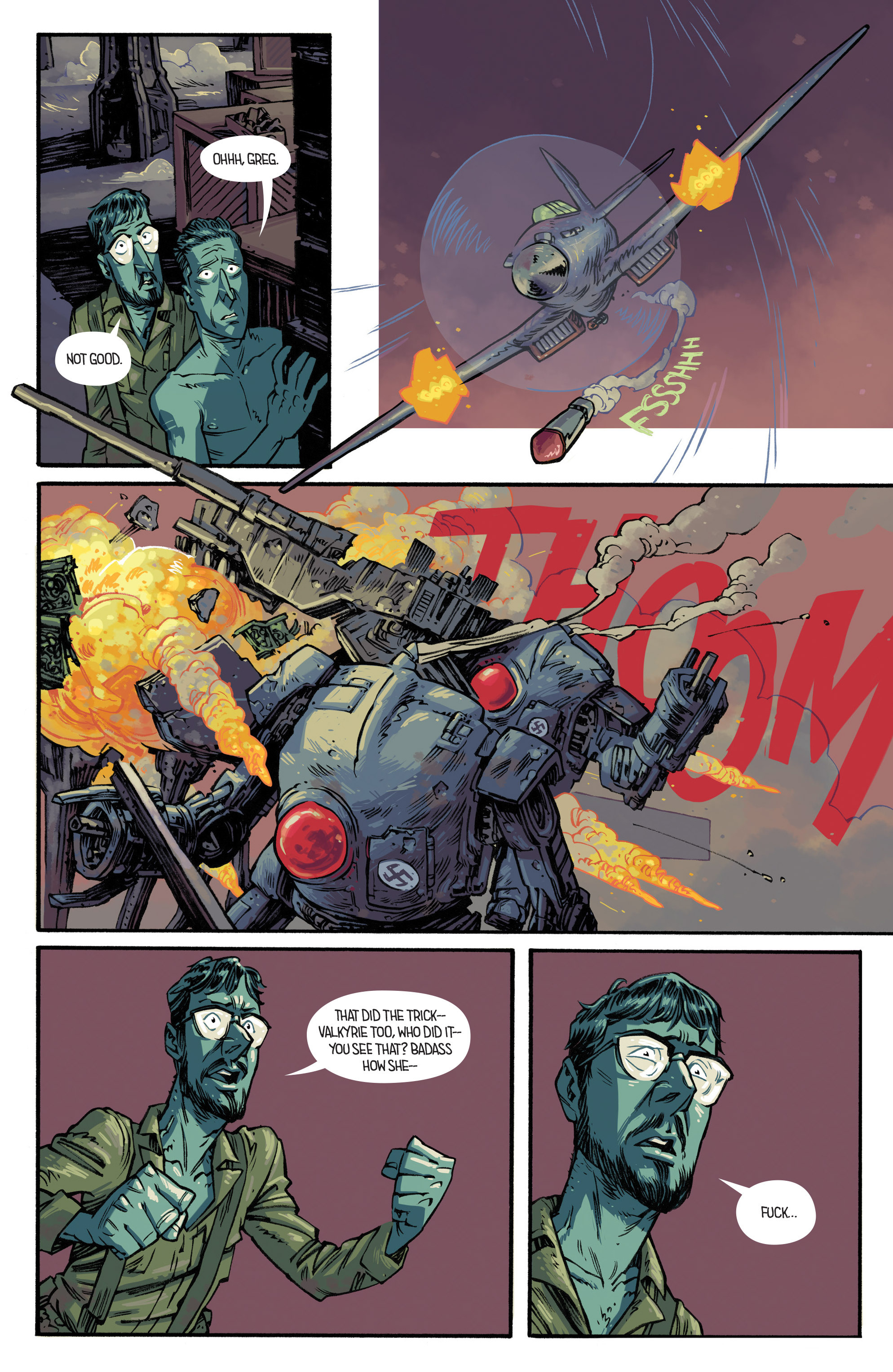 Read online Airboy comic -  Issue #4 - 14