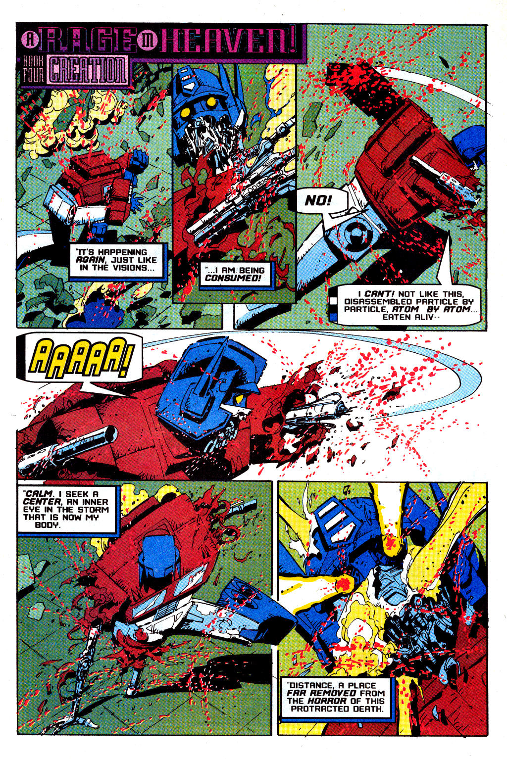 Read online Transformers: Generation 2 comic -  Issue #12 - 31