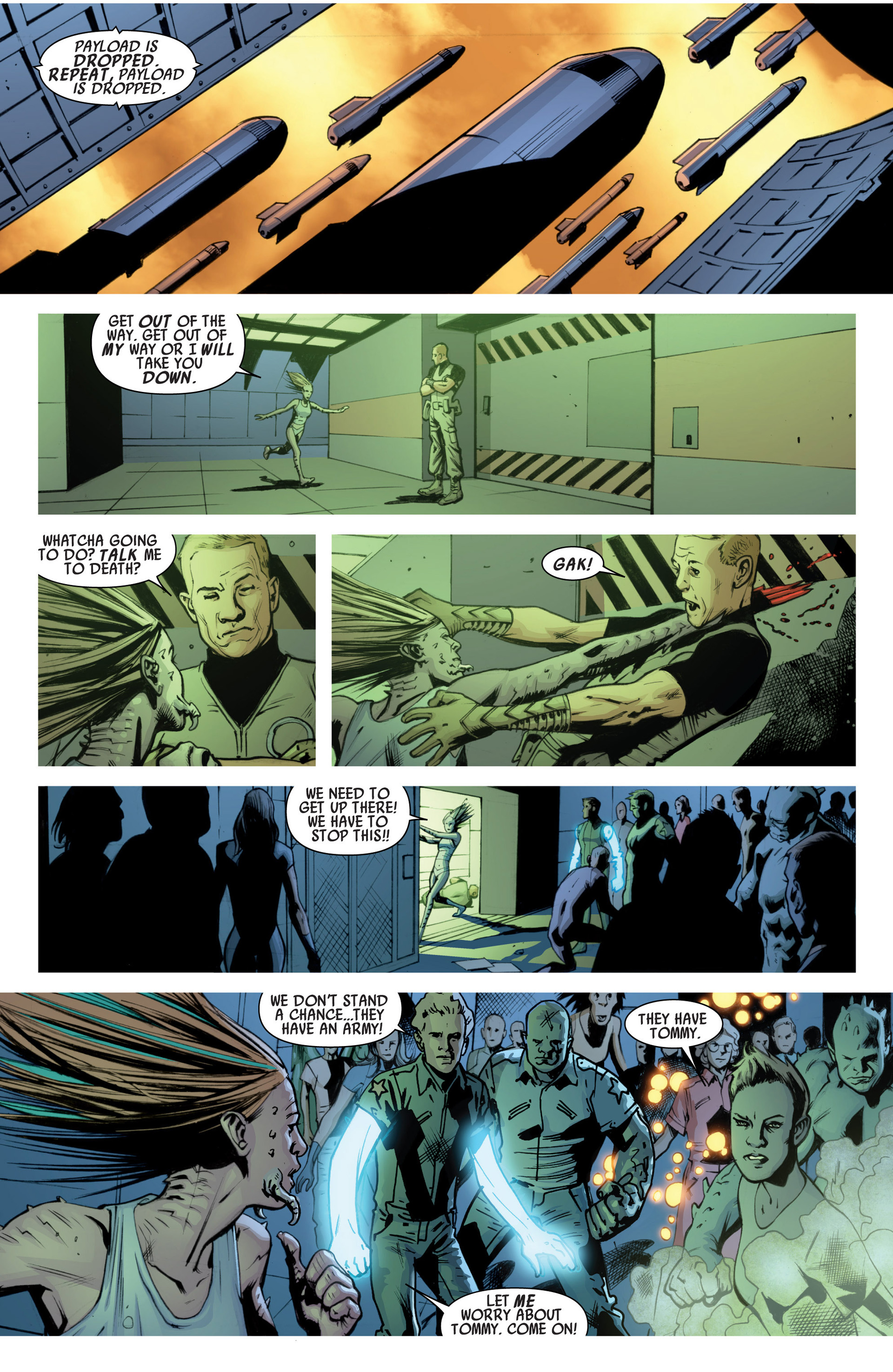 Read online America's Got Powers comic -  Issue #7 - 10