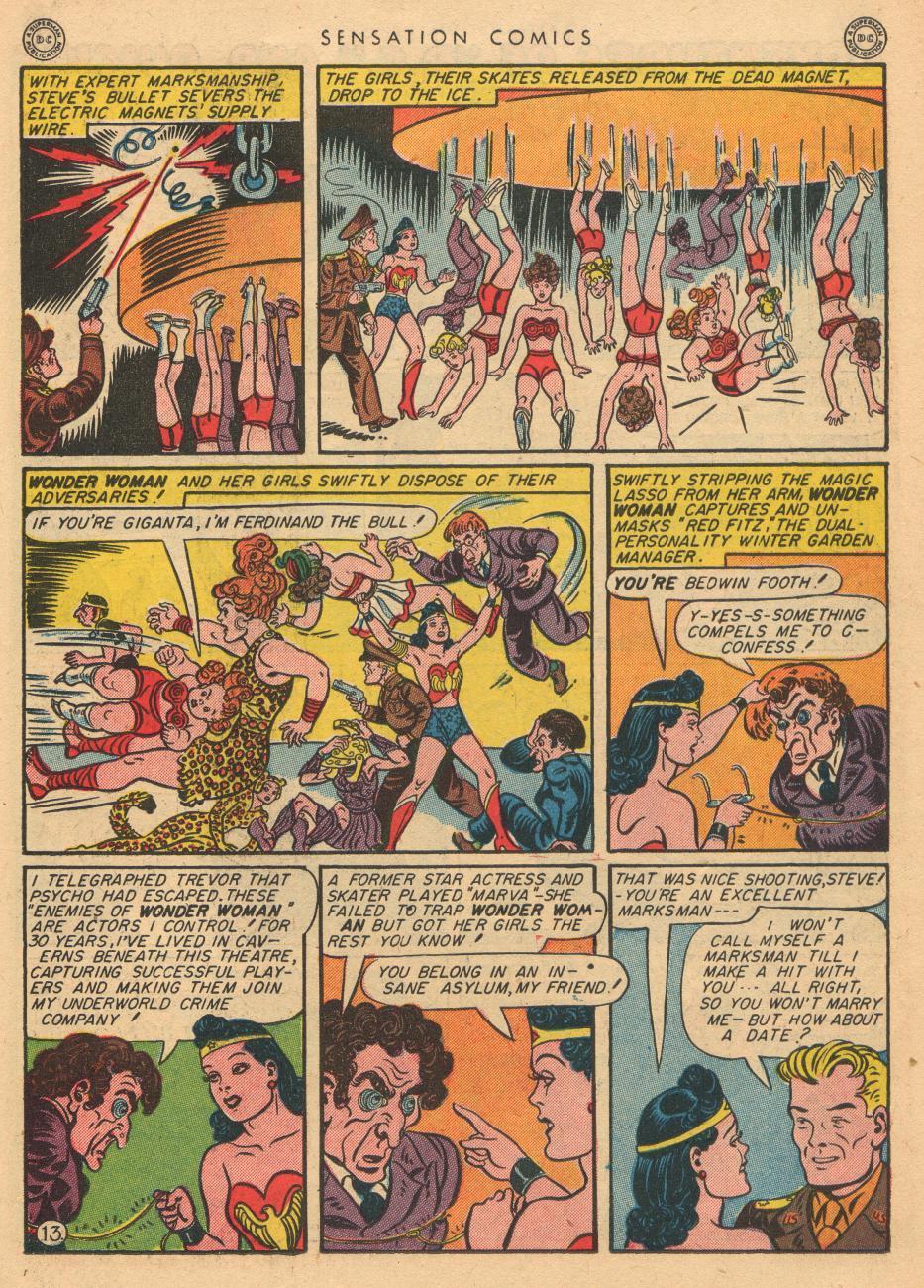Read online Sensation (Mystery) Comics comic -  Issue #36 - 15