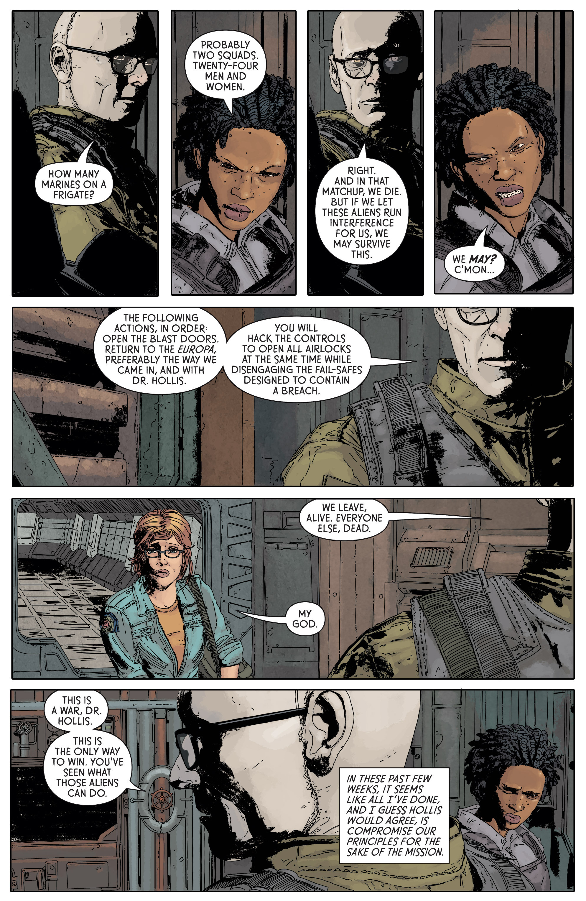 Read online Aliens: Defiance comic -  Issue #5 - 19
