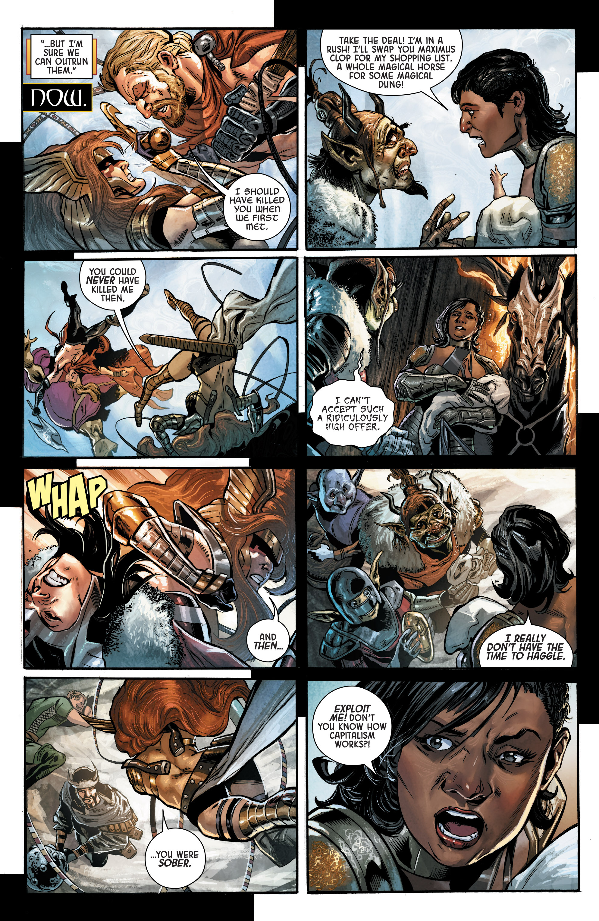 Read online Angela: Asgard's Assassin comic -  Issue #2 - 11