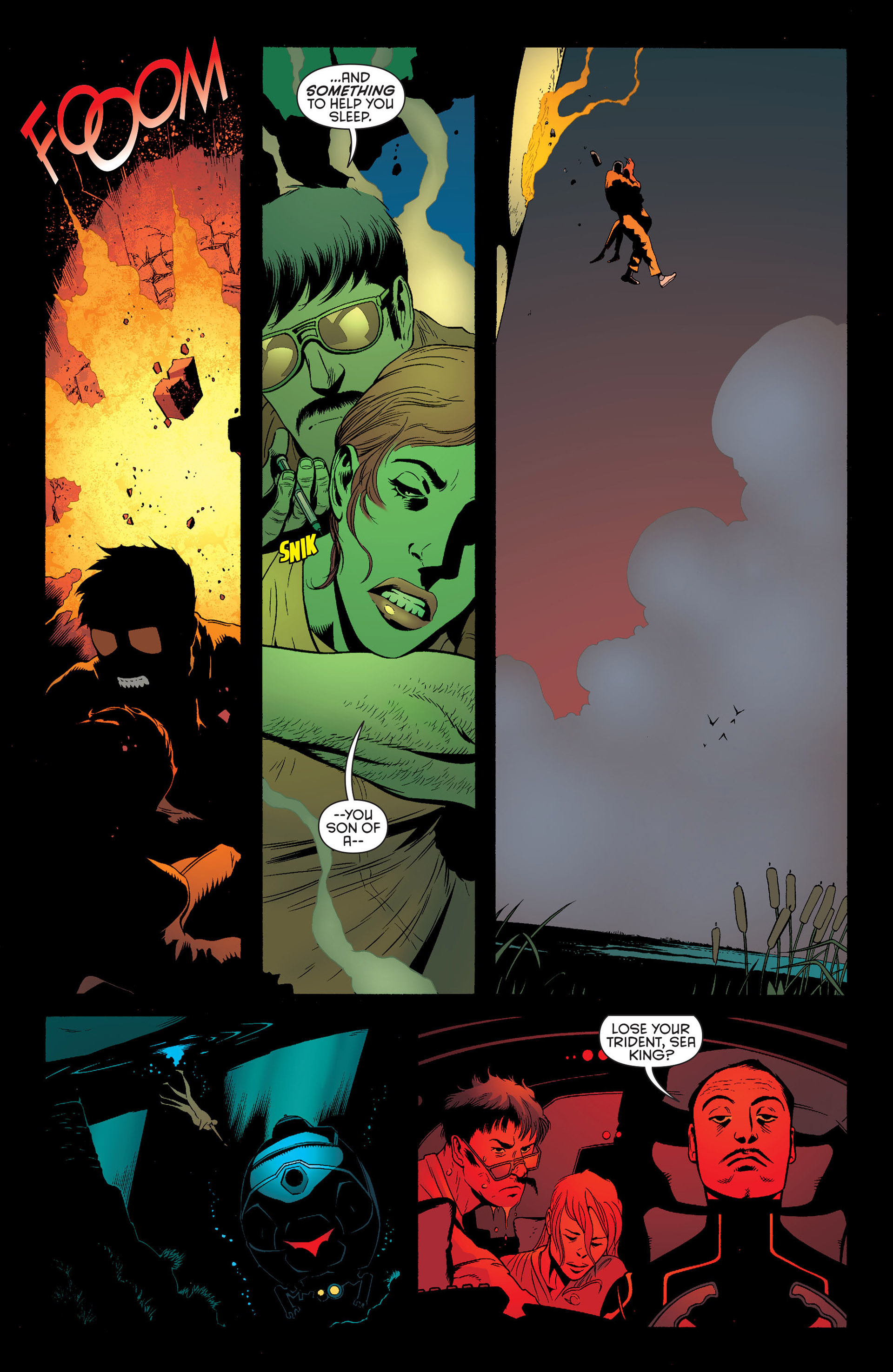 Read online Batman and Robin (2011) comic -  Issue #25 - Batman and Two-Face - 20