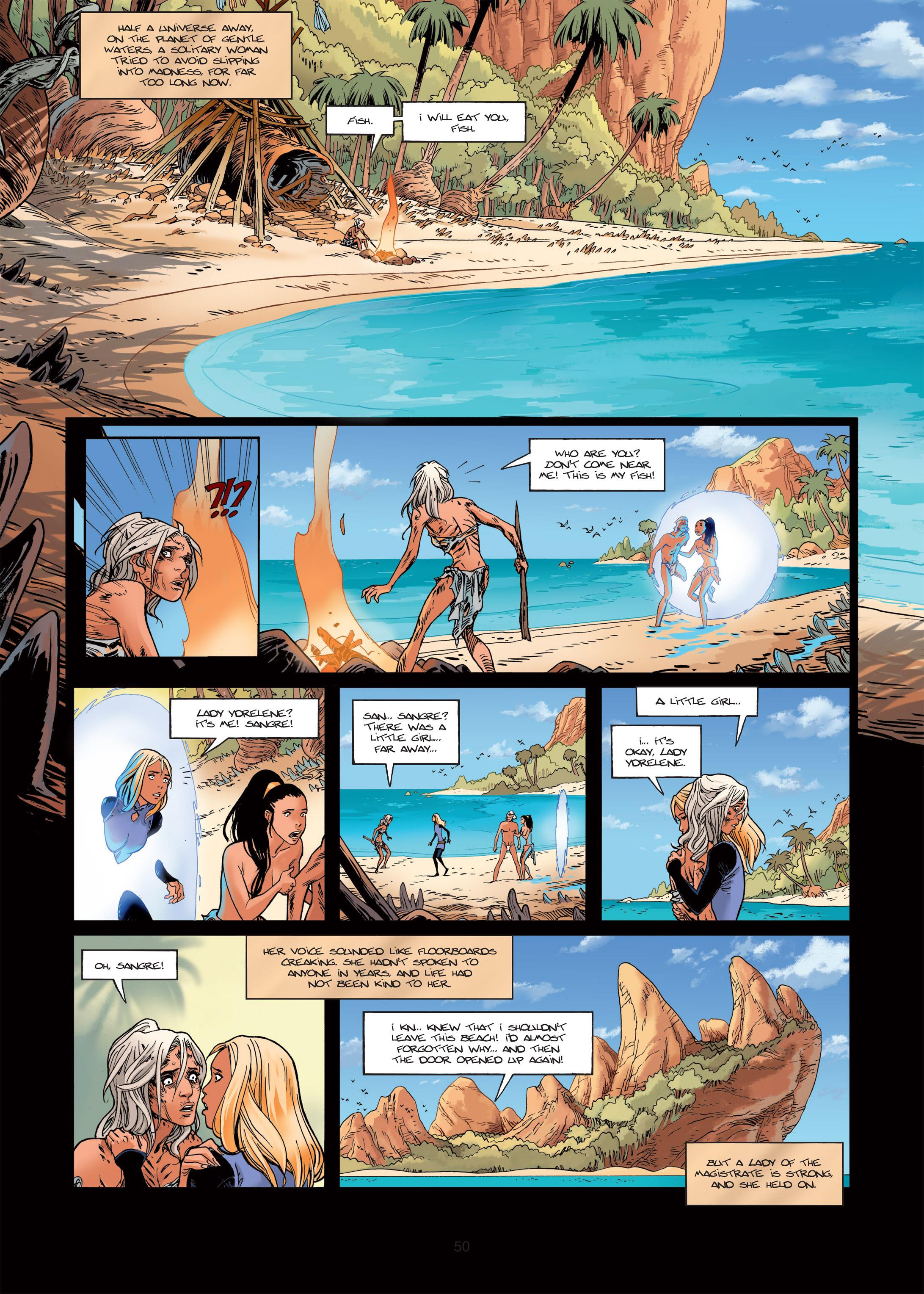 Read online Sangre Vol. 1: Sangre the Survivor comic -  Issue # Full - 50