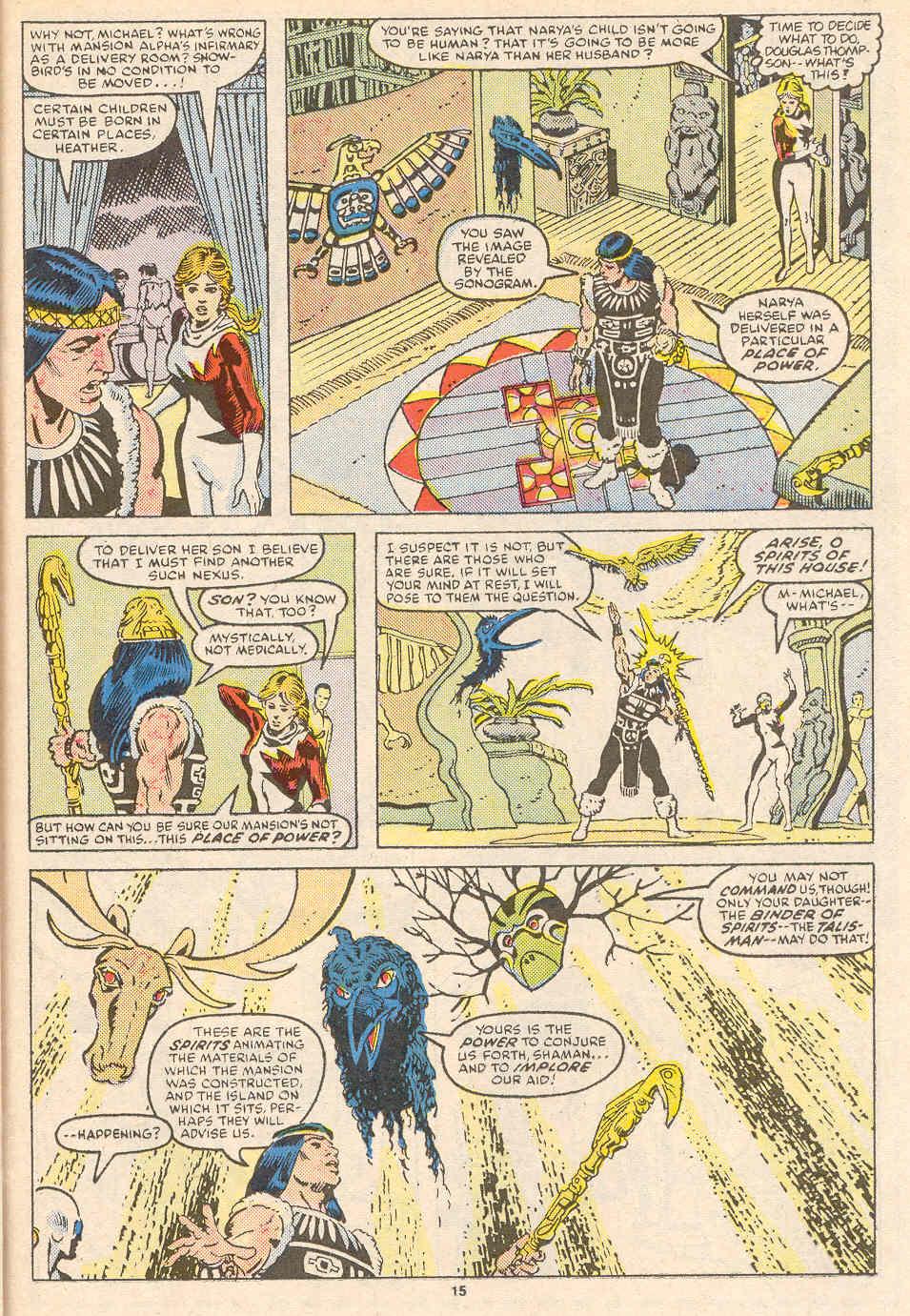 Read online Alpha Flight (1983) comic -  Issue #36 - 16