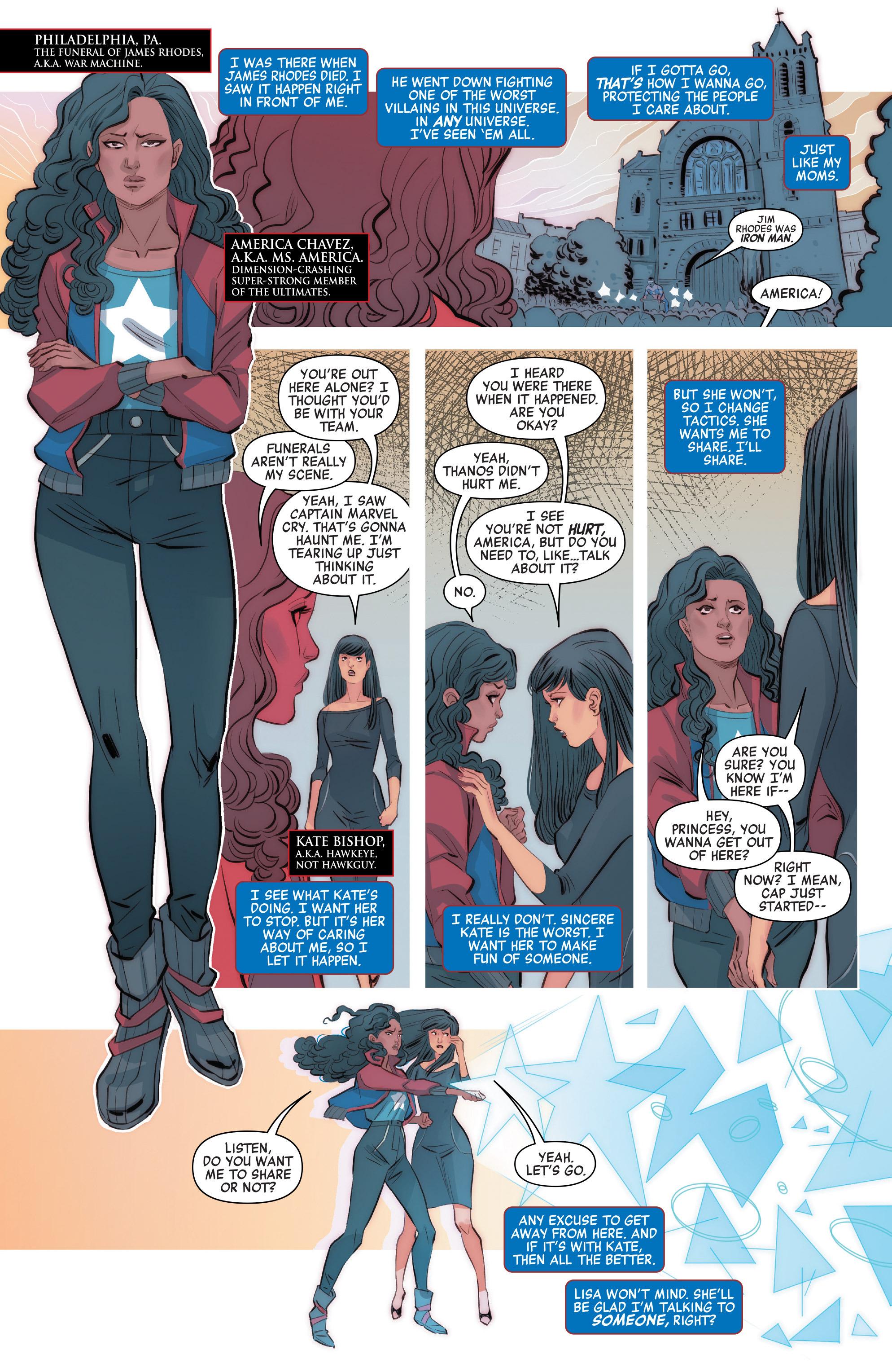 Read online Civil War II: Choosing Sides comic -  Issue #2 - 5