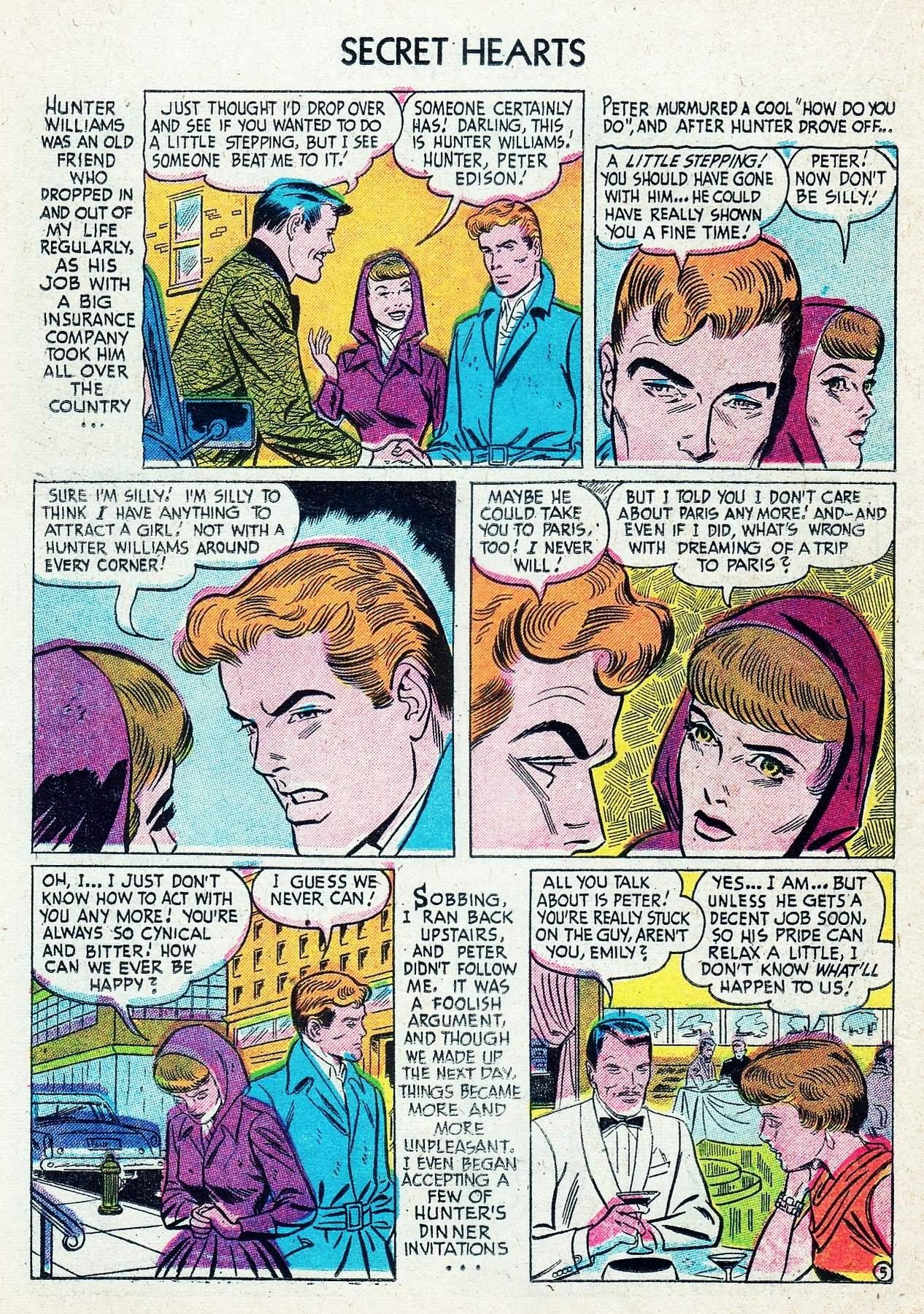 Read online Secret Hearts comic -  Issue #29 - 22