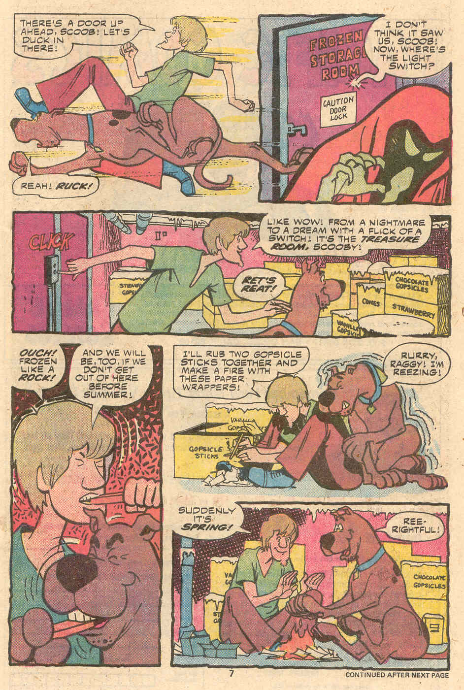 Read online Scooby-Doo (1977) comic -  Issue #1 - 6