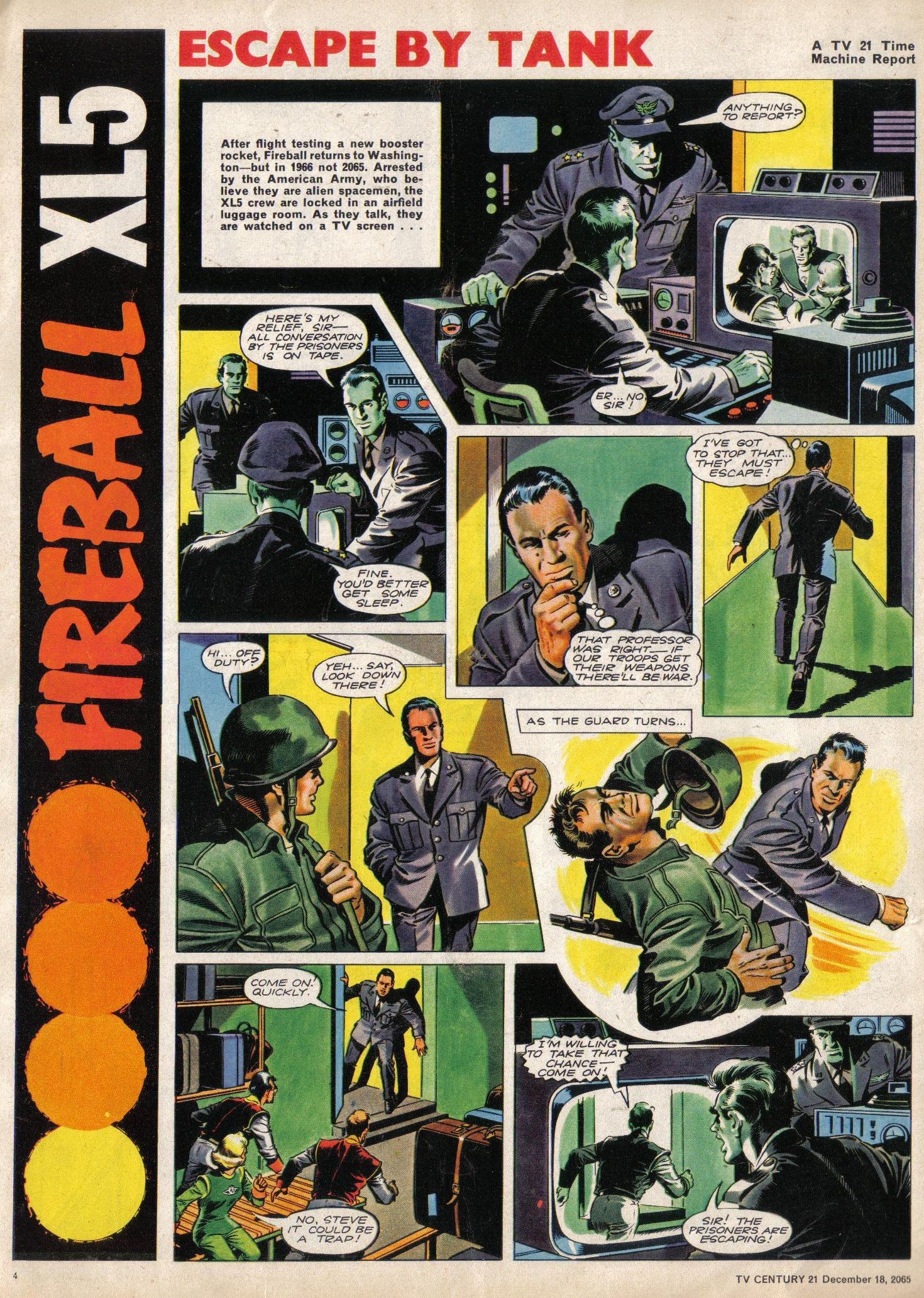 Read online TV Century 21 (TV 21) comic -  Issue #48 - 4