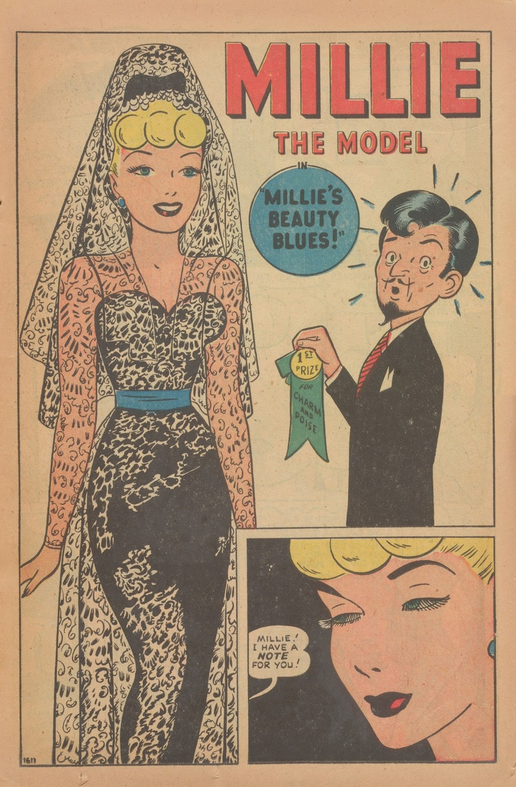 Read online Nellie The Nurse (1945) comic -  Issue #9 - 17