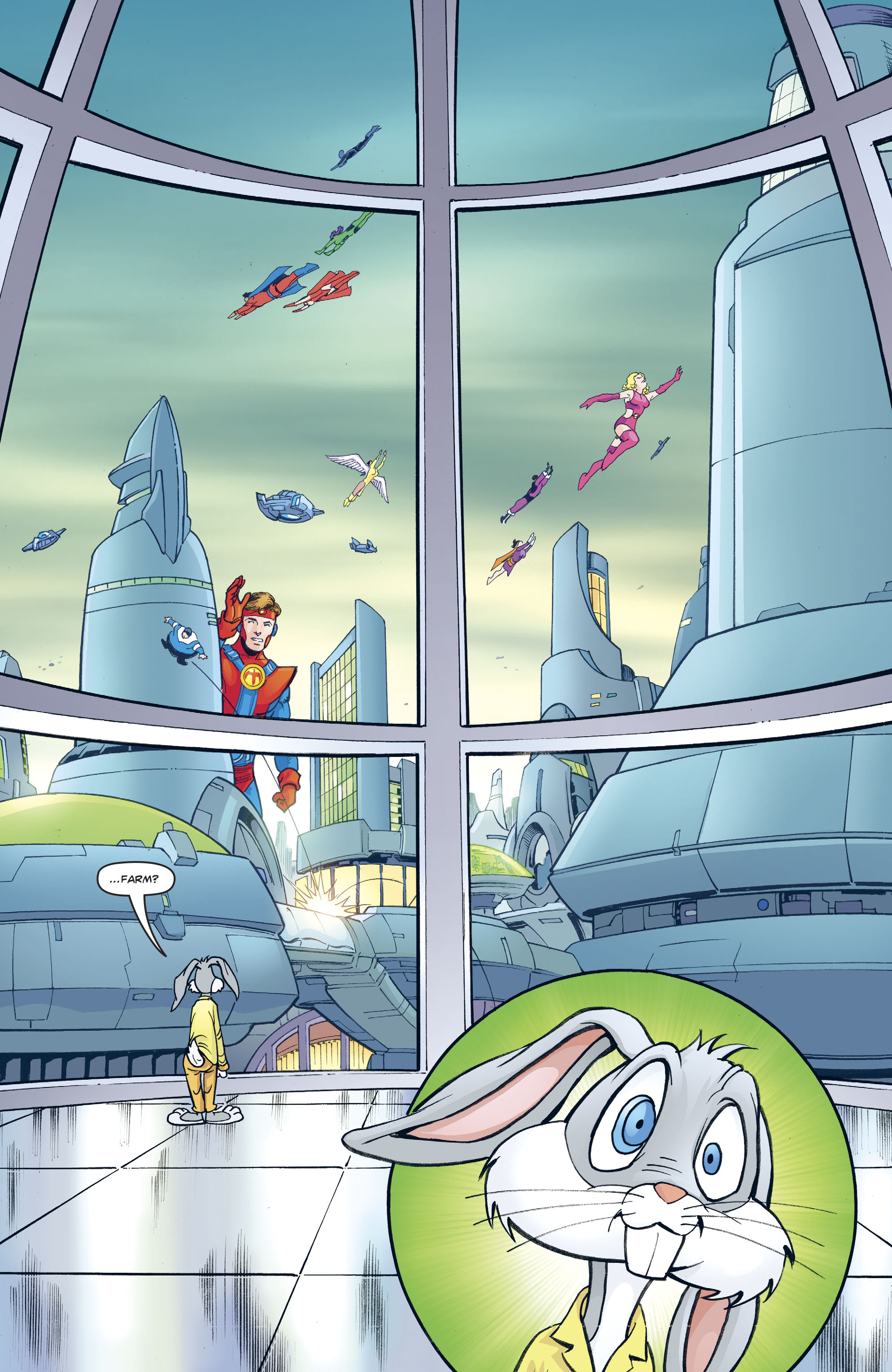 Read online Legion of Super-Heroes/Bugs Bunny Special comic -  Issue # Full - 15